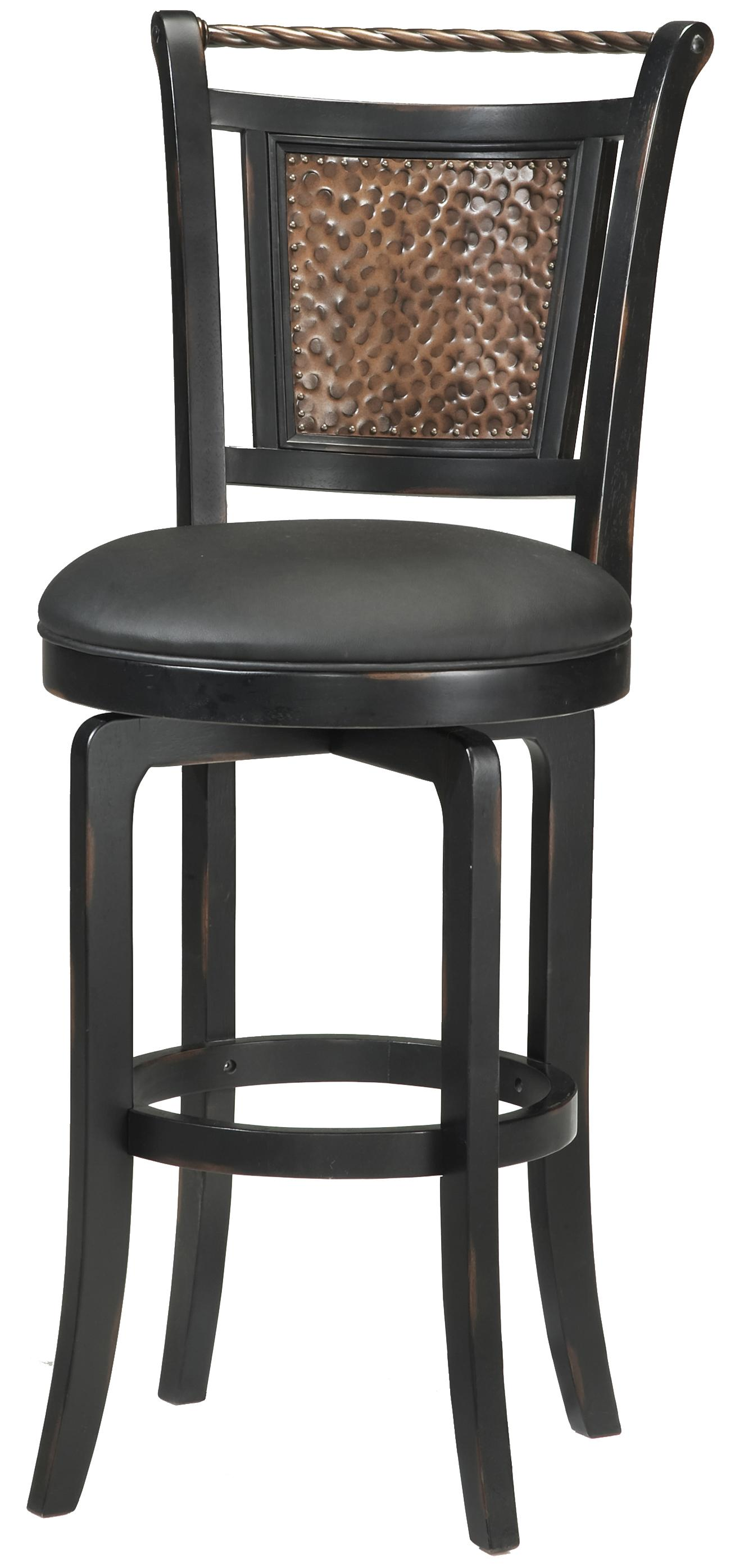wood stools 26 5 counter height norwood swivel stool by hillsdale wolf furniture. Black Bedroom Furniture Sets. Home Design Ideas