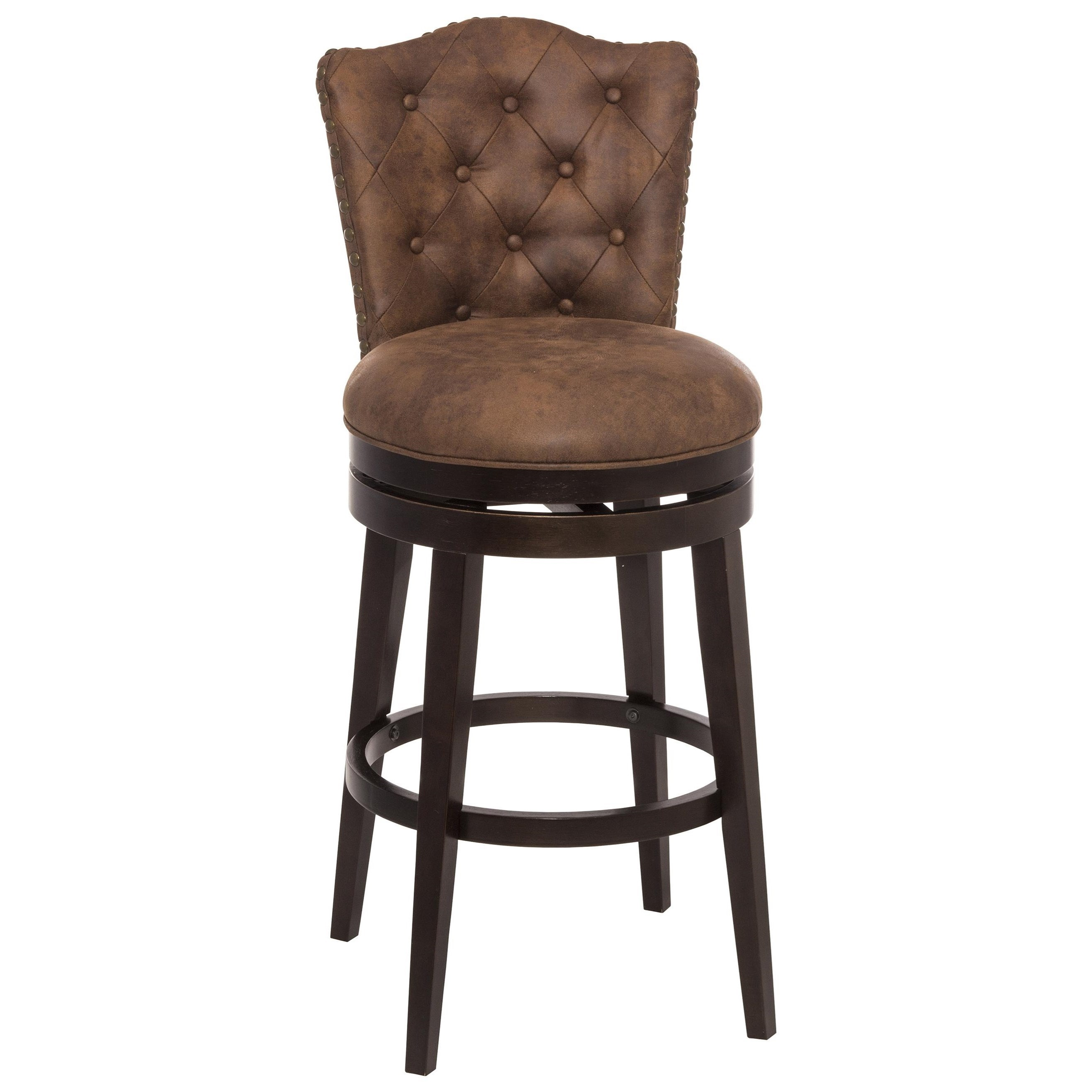 Hillsdale Wood Stools 5945 826 Swivel Counter Stool With