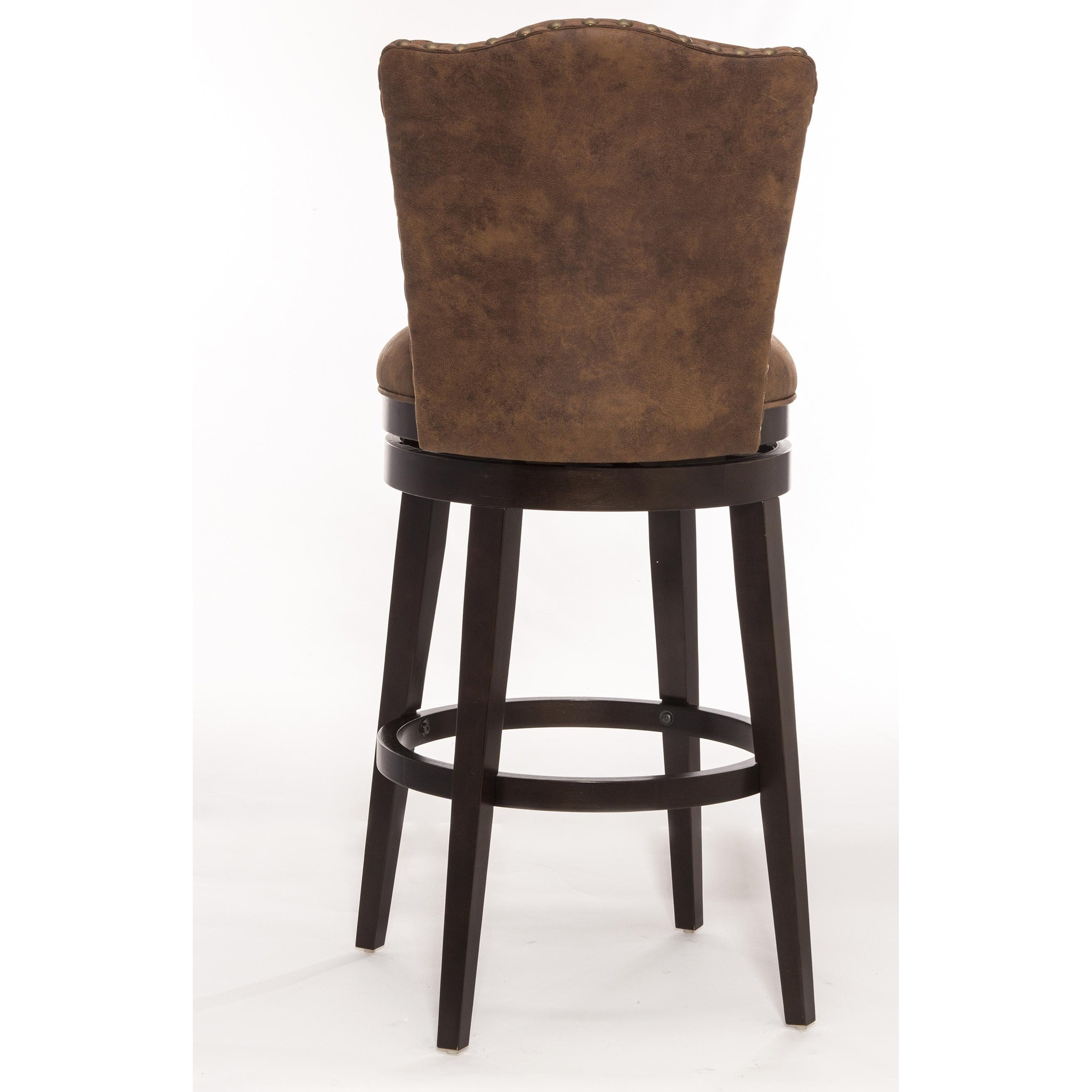 Hillsdale Wood Stools Swivel Counter Stool With