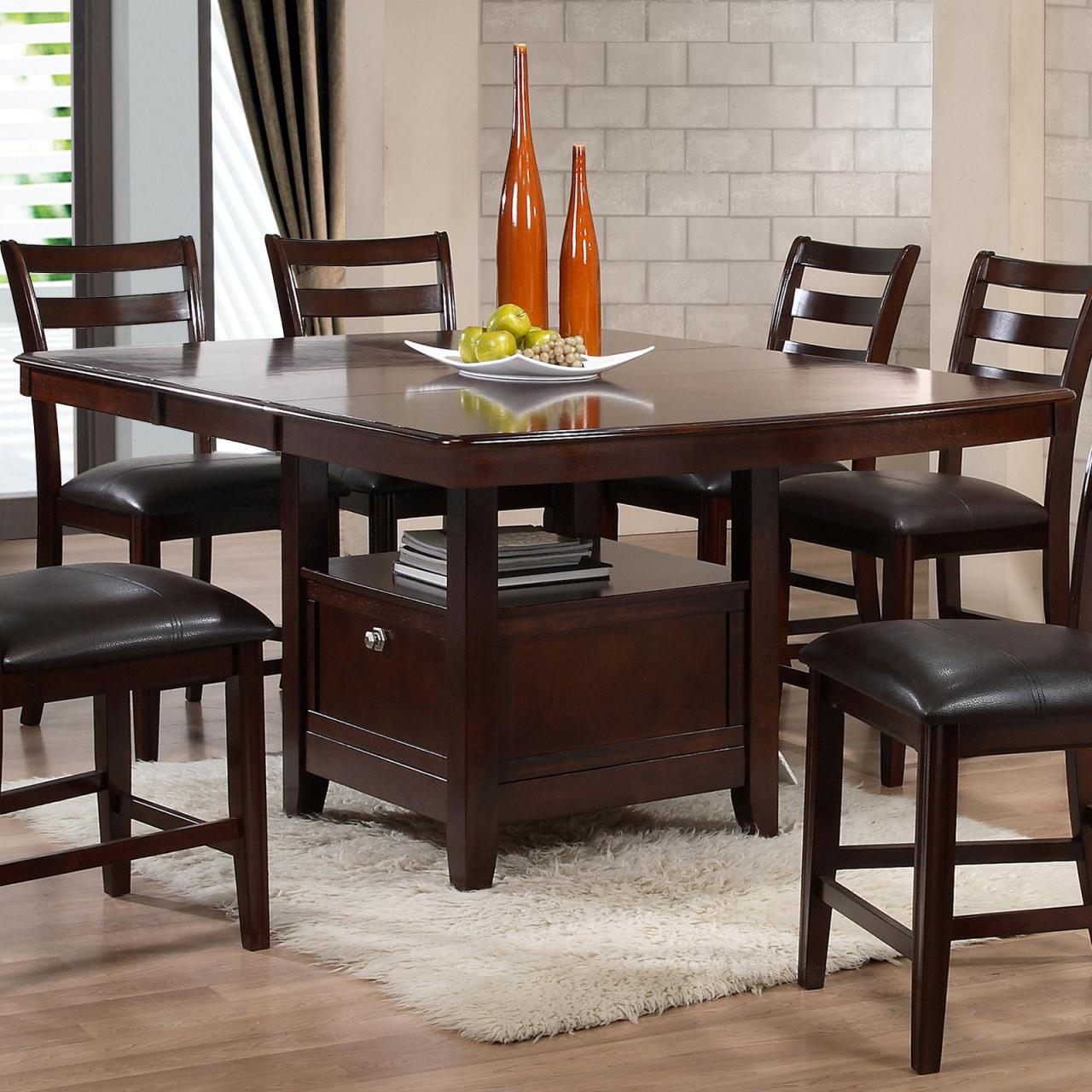 Holland House 1965 Dining Contemporary Pub Table with