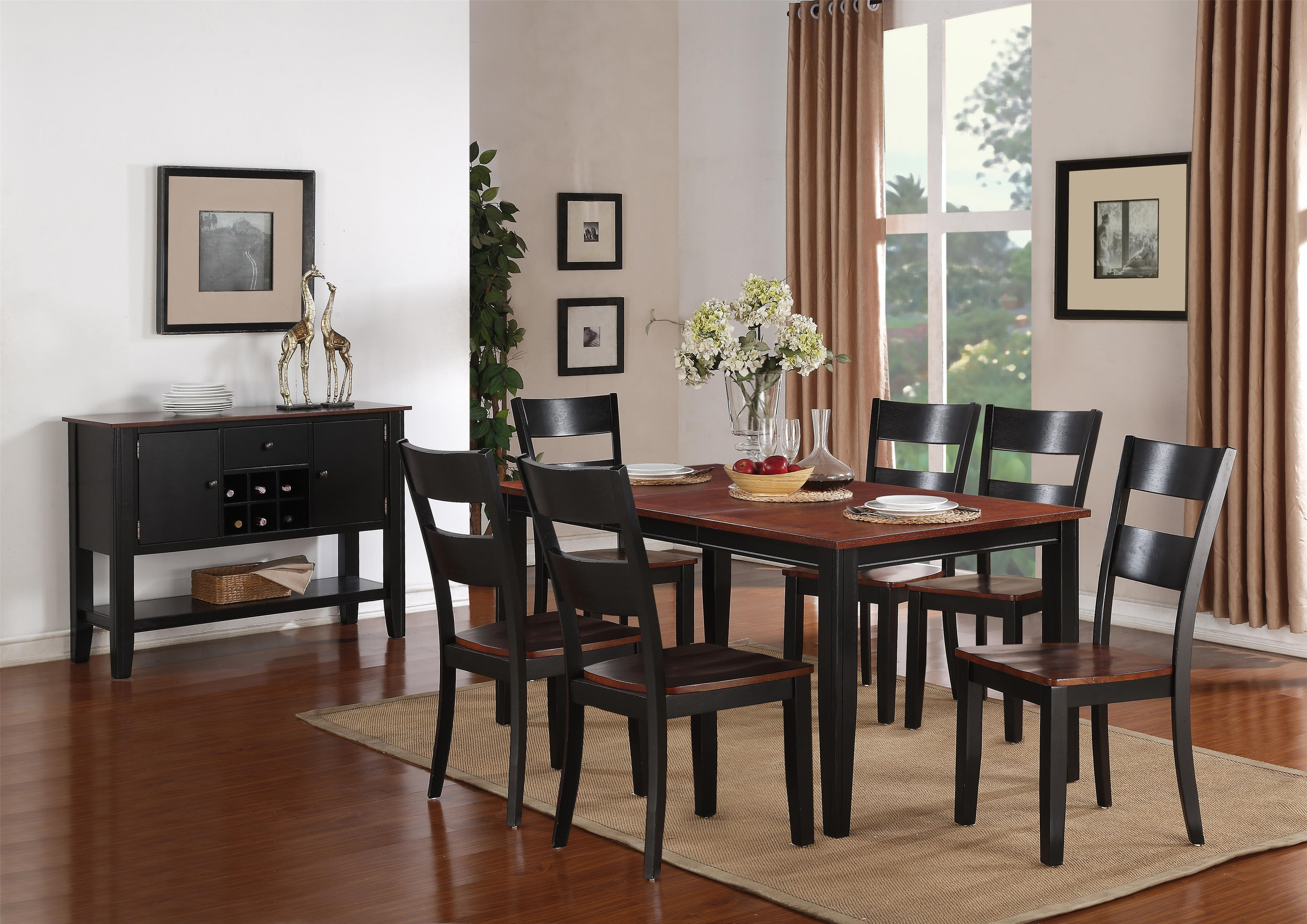 Holland House 8202 Rectangular Table with Tapered Legs ...