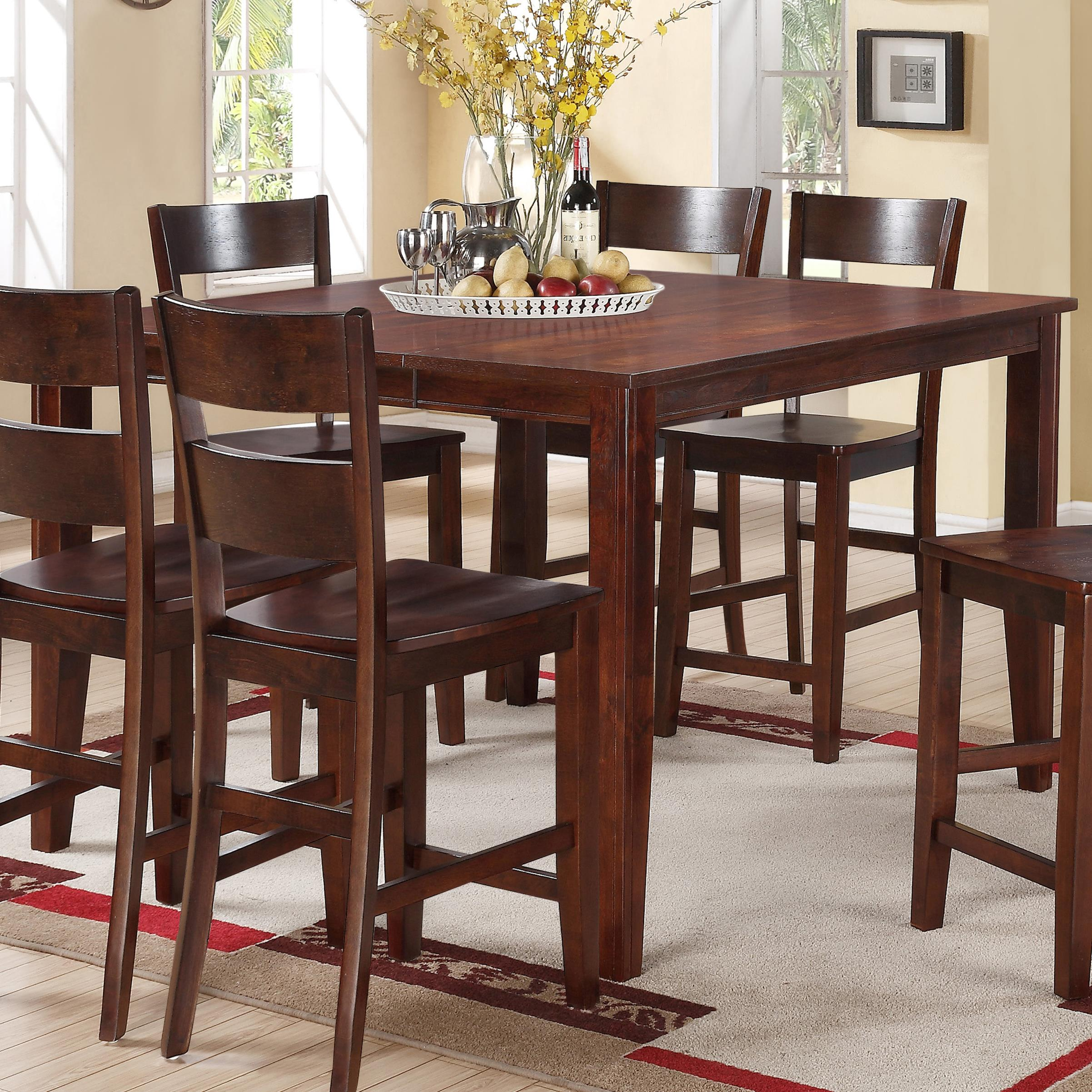 Holland House 8203 Square Counter Height Table with
