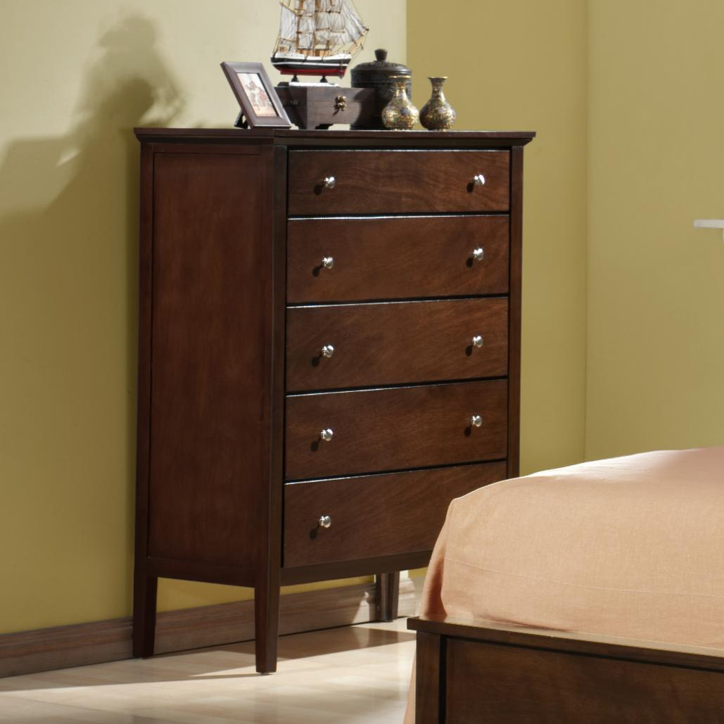 Holland House Central Park 5 Drawer Chest Royal