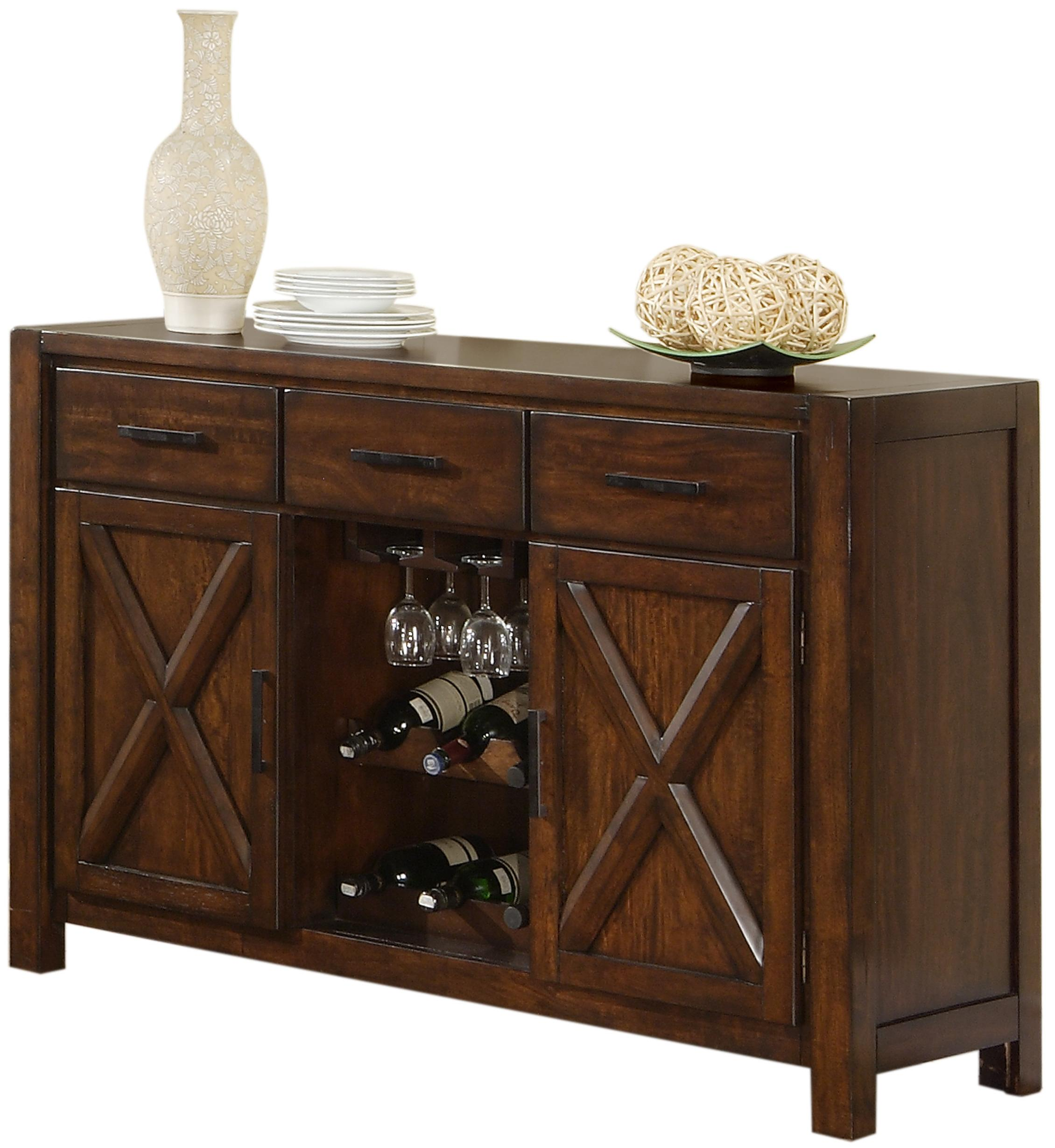 Holland House Lakeshore 1278 5418 Dining Sideboard W Wine