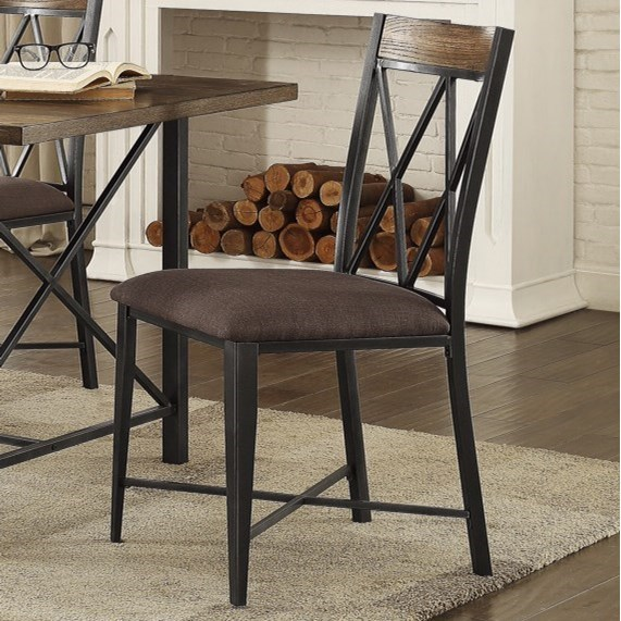 homelegance 5512 contemporary dining side chair item number 5512s