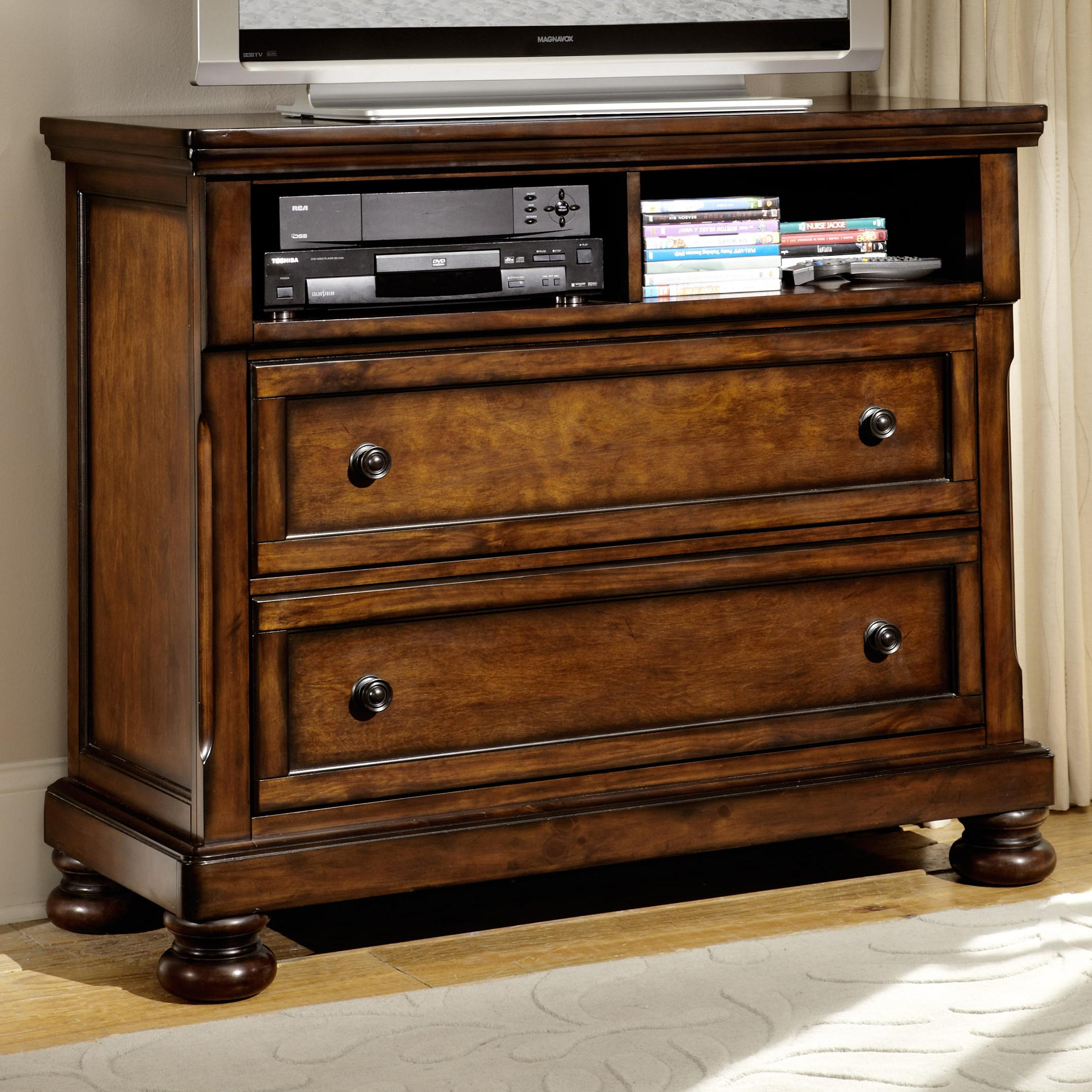 homelegance cumberland transitional tv chest with 2 drawers value city furniture chest. Black Bedroom Furniture Sets. Home Design Ideas