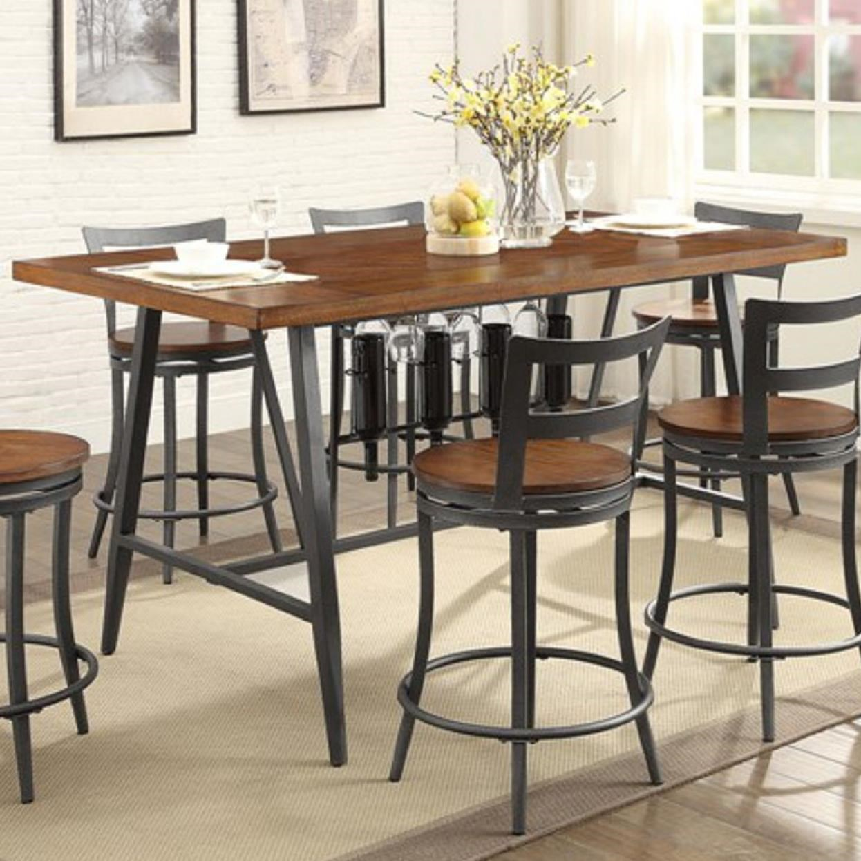 Homelegance Selbyville Contemporary Counter Height Table
