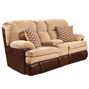 Homestretch 103 3 piece casual two tone reclining sofa for Sectional sofa 103