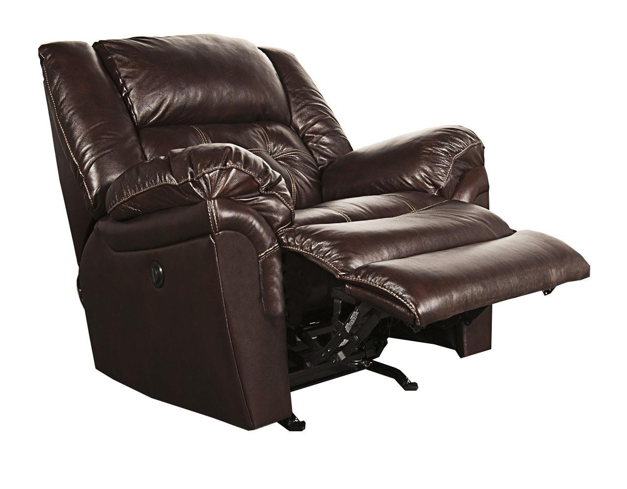 Elijah leather match power rocker recliner morris home three way recliners Morris home furniture hours