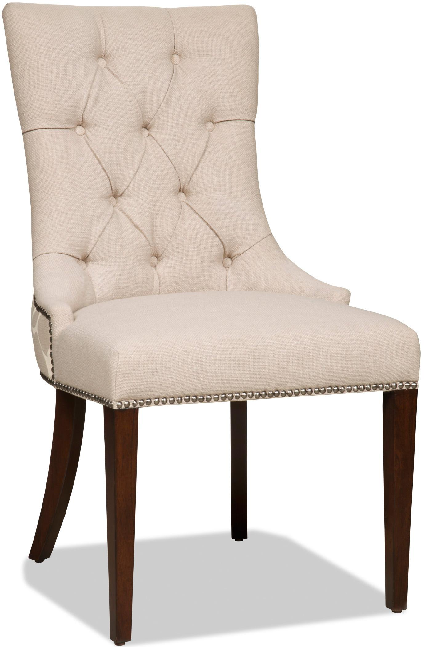 Hooker furniture dining chairs 300 350031 upholstered for Upholstered dining room side chairs