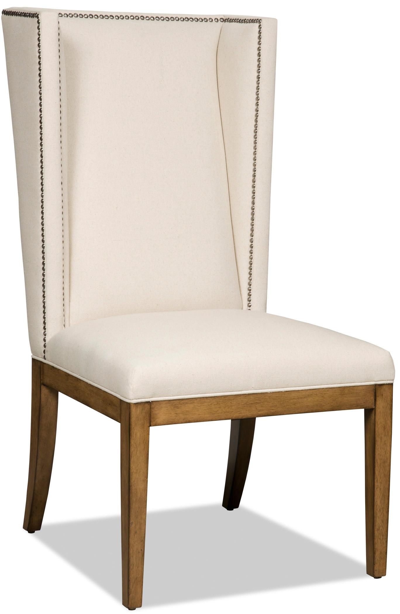 Hooker furniture dining chairs upholstered parsons dining for Upholstered parson dining chairs