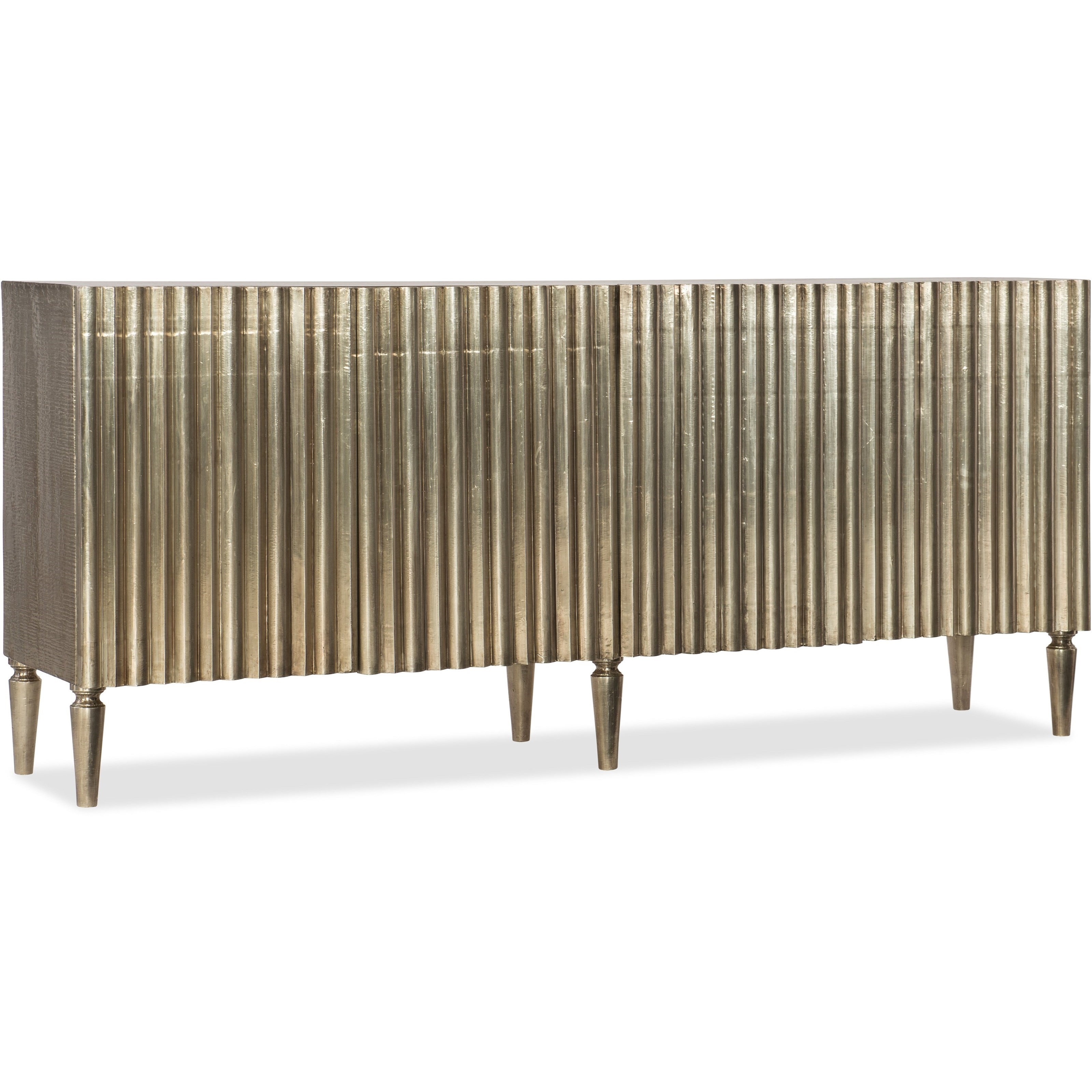 Living Room Accents German Silver Console by Hooker Furniture at Baer's Furniture