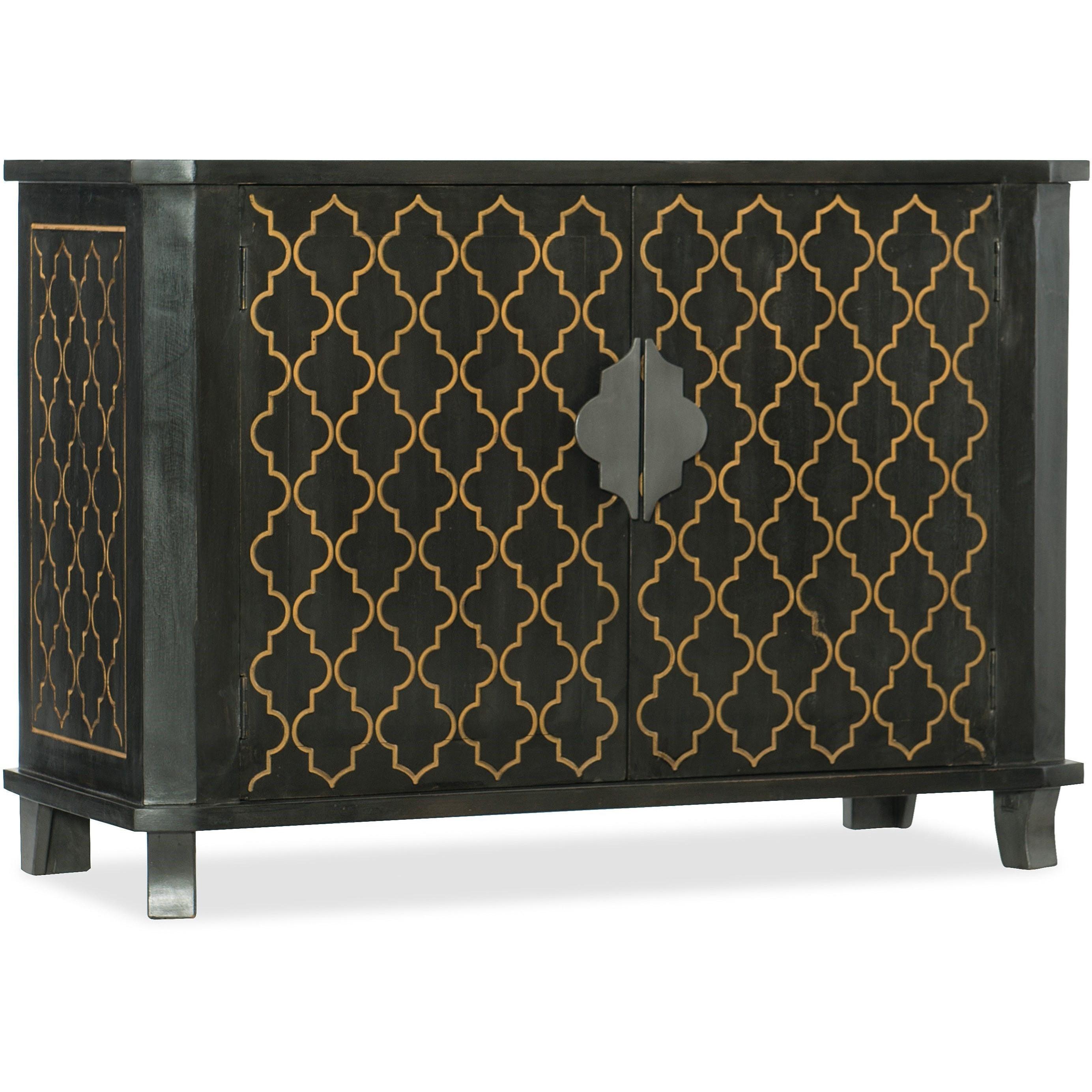 Hooker Furniture Living Room Accents 46 Quatrefoil Accent Chest Olinde 39 S Furniture Accent
