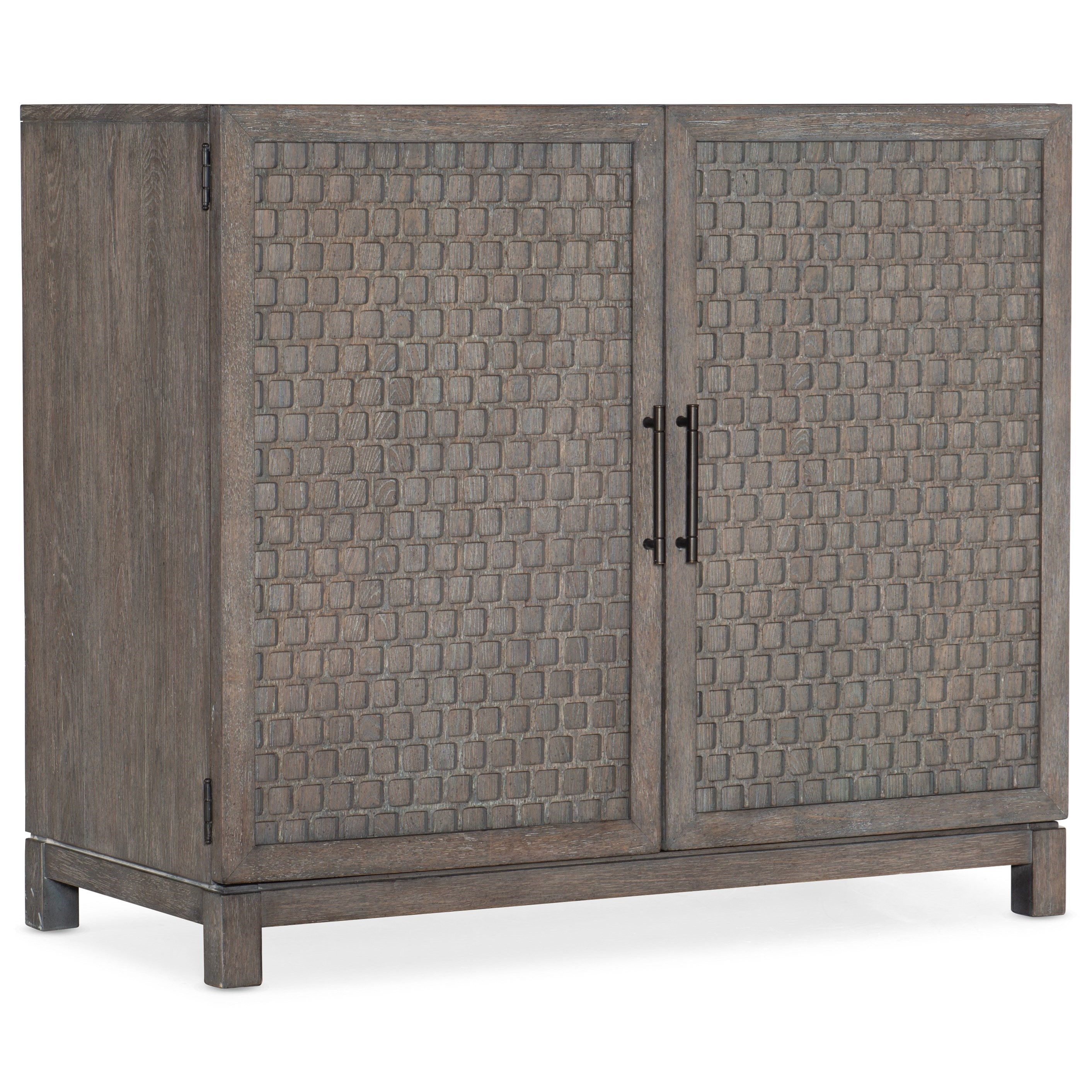 Living Room Accents Two-Door Chest by Hooker Furniture at Miller Waldrop Furniture and Decor