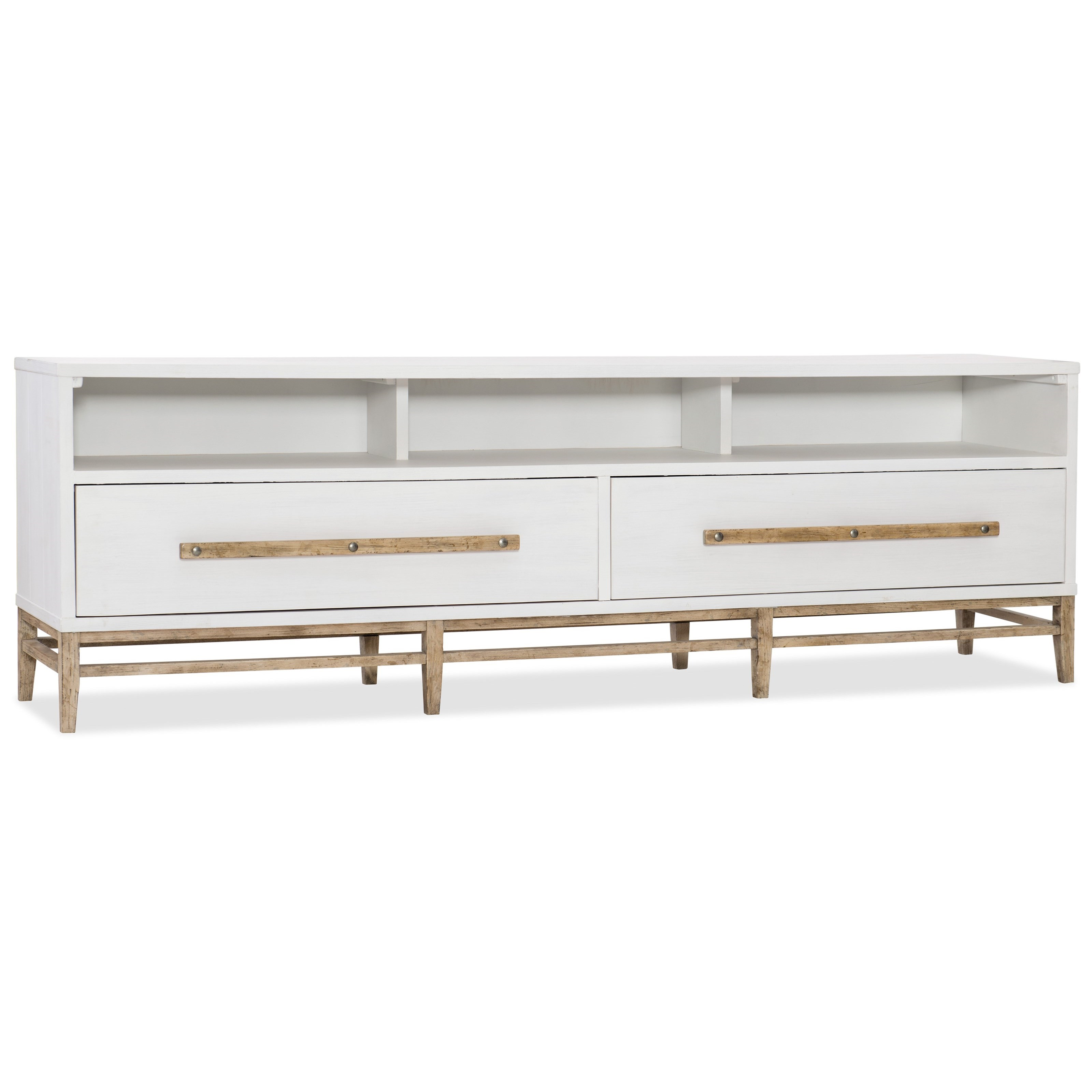 American Life-Urban Elevation Low Entertainment Console at Williams & Kay