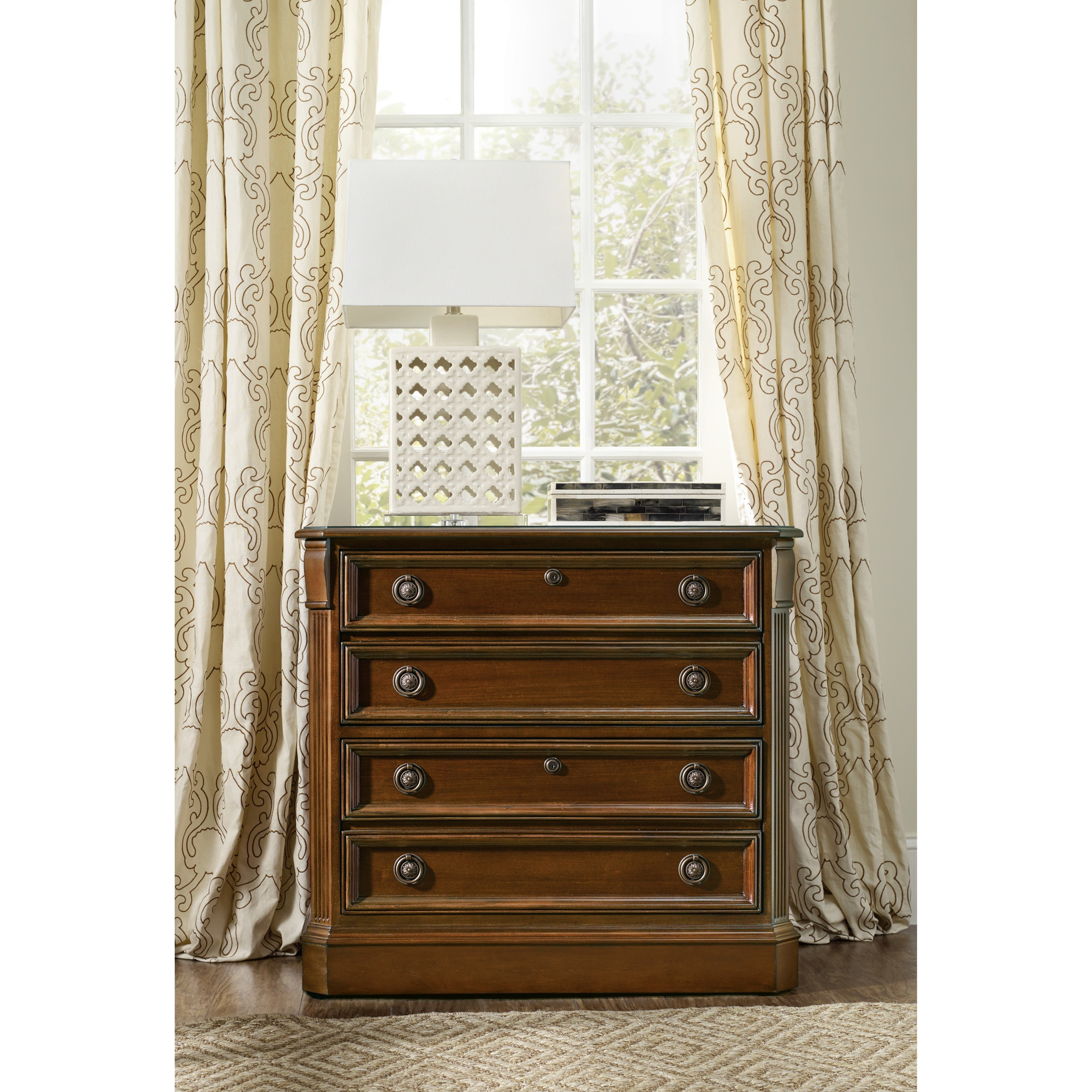 Hooker furniture brookhaven 281 10 566 lateral file with for Brookhaven kitchen cabinets price