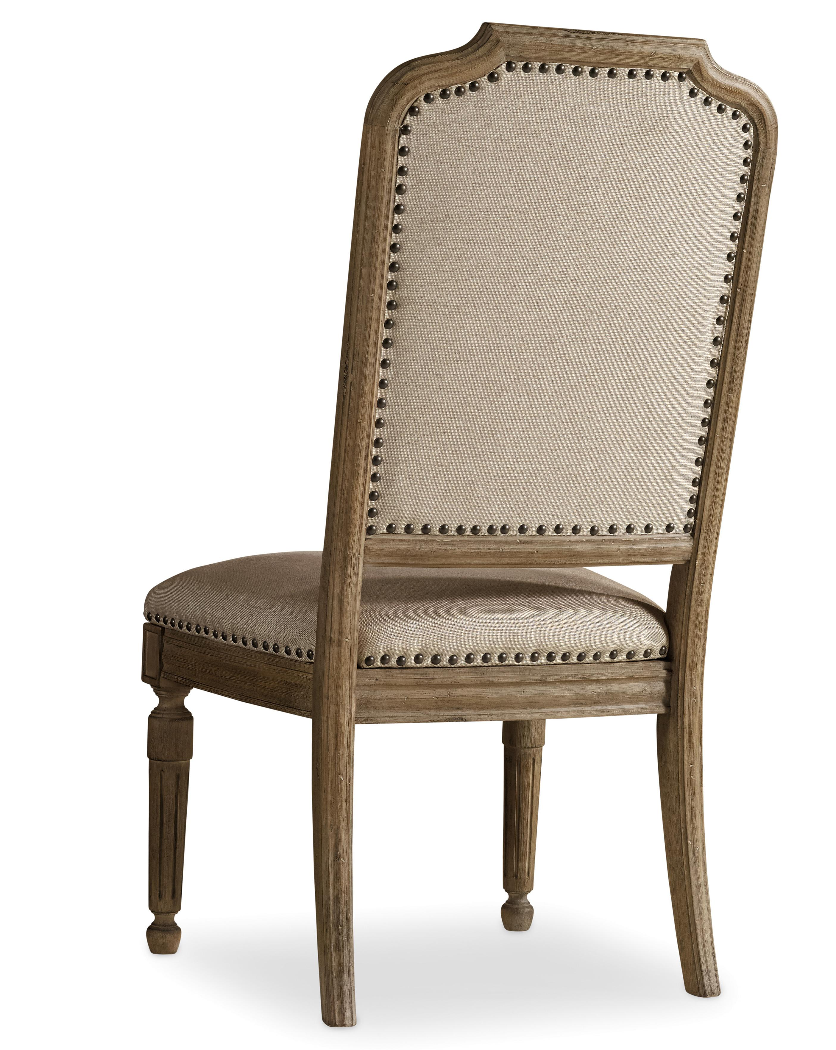 Corsica Upholstered Side Chair by Hooker Furniture at Miller Waldrop Furniture and Decor