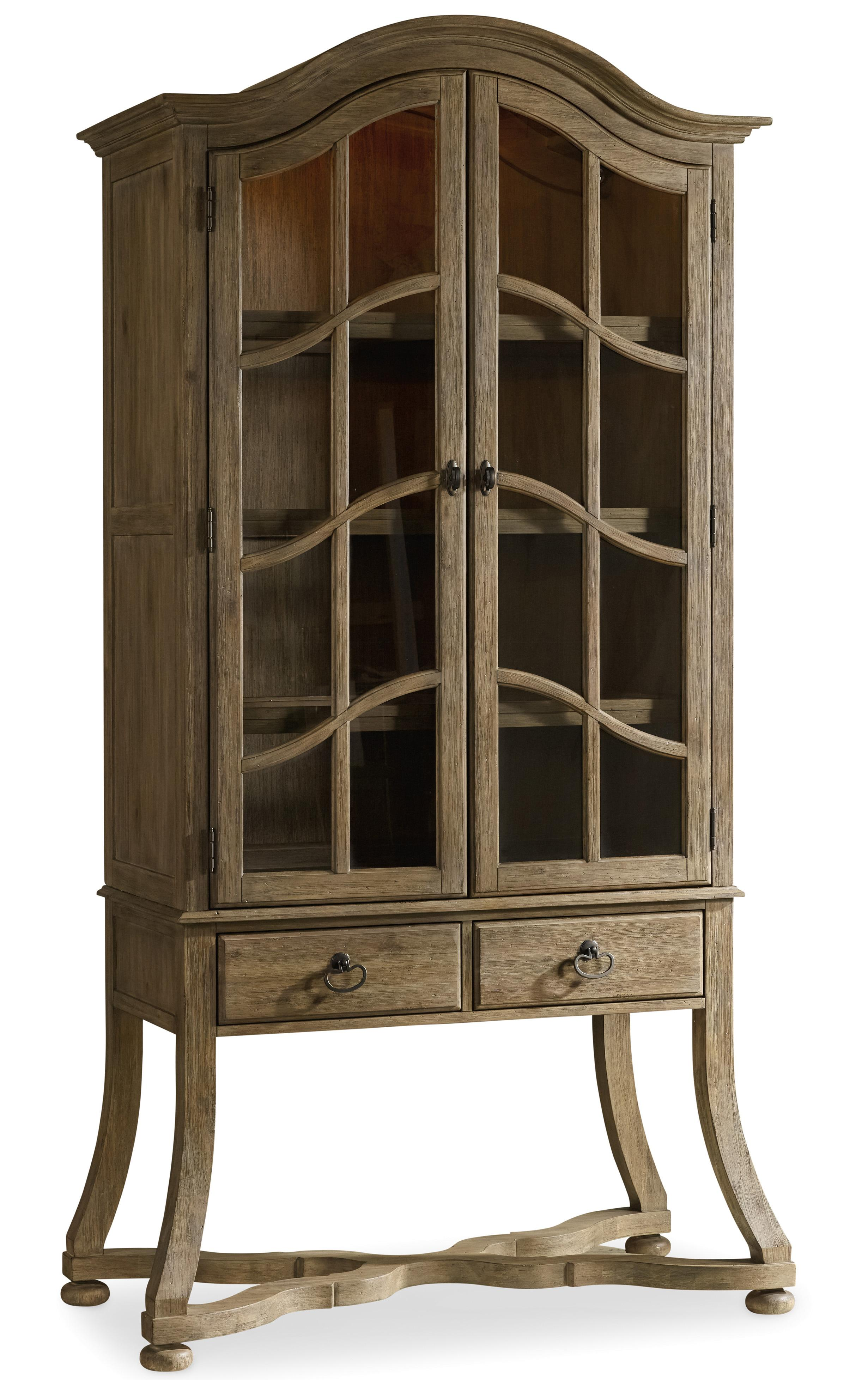 Hooker Furniture Corsica Display Cabinet with Touch