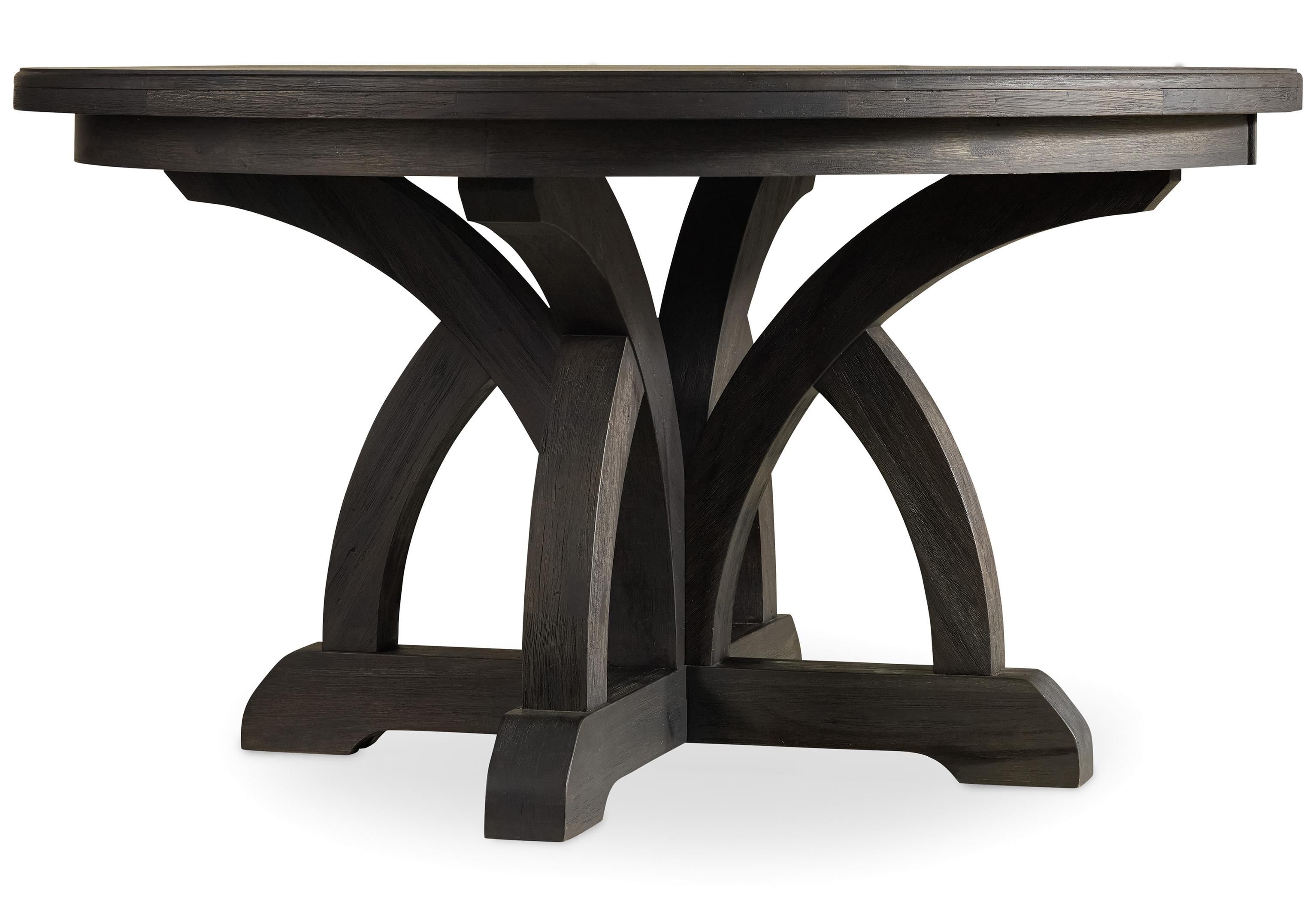 Corsica Round Dining Table by Hooker Furniture at Baer's Furniture