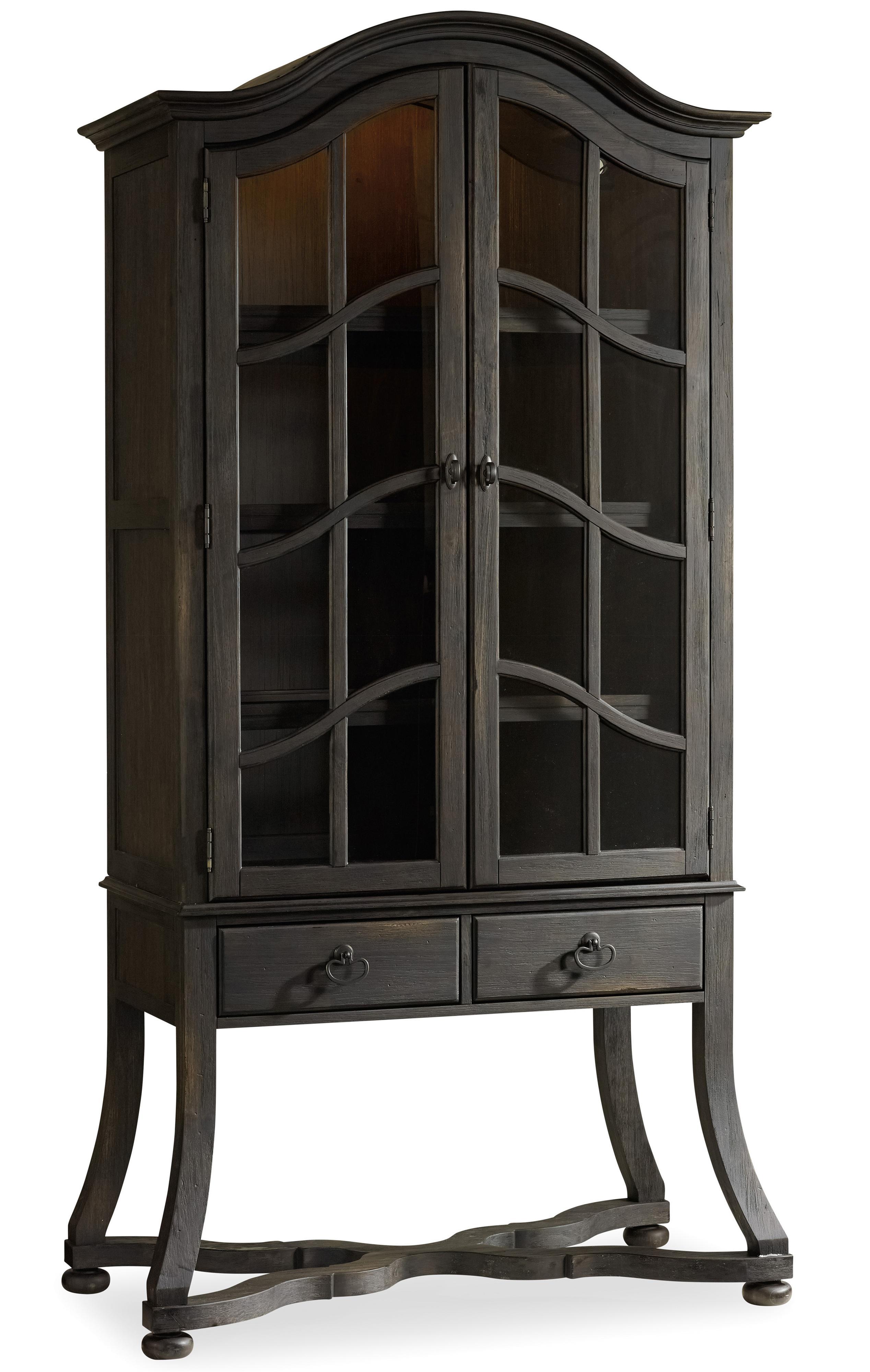Corsica Display Cabinet by Hooker Furniture at Baer's Furniture