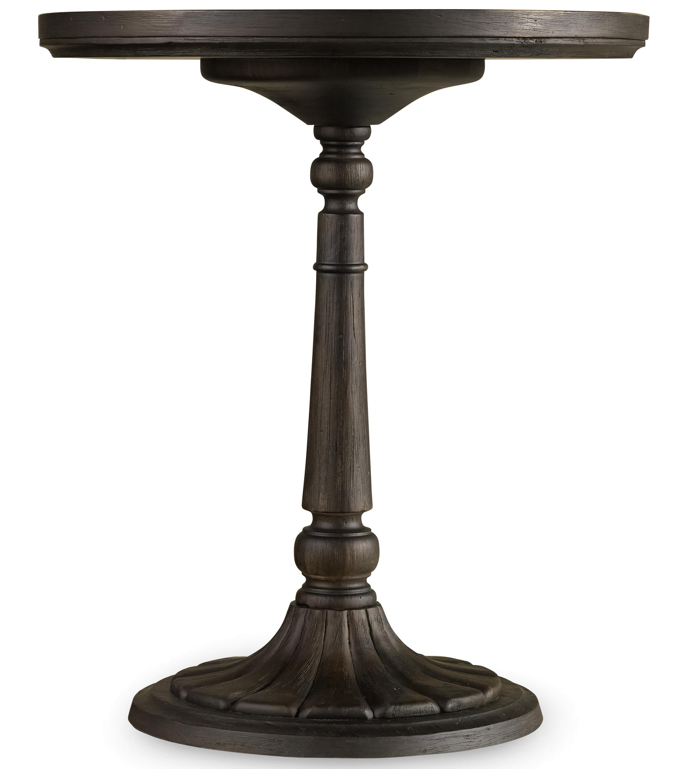 Corsica Round Bedside Table by Hooker Furniture at Zak's Home