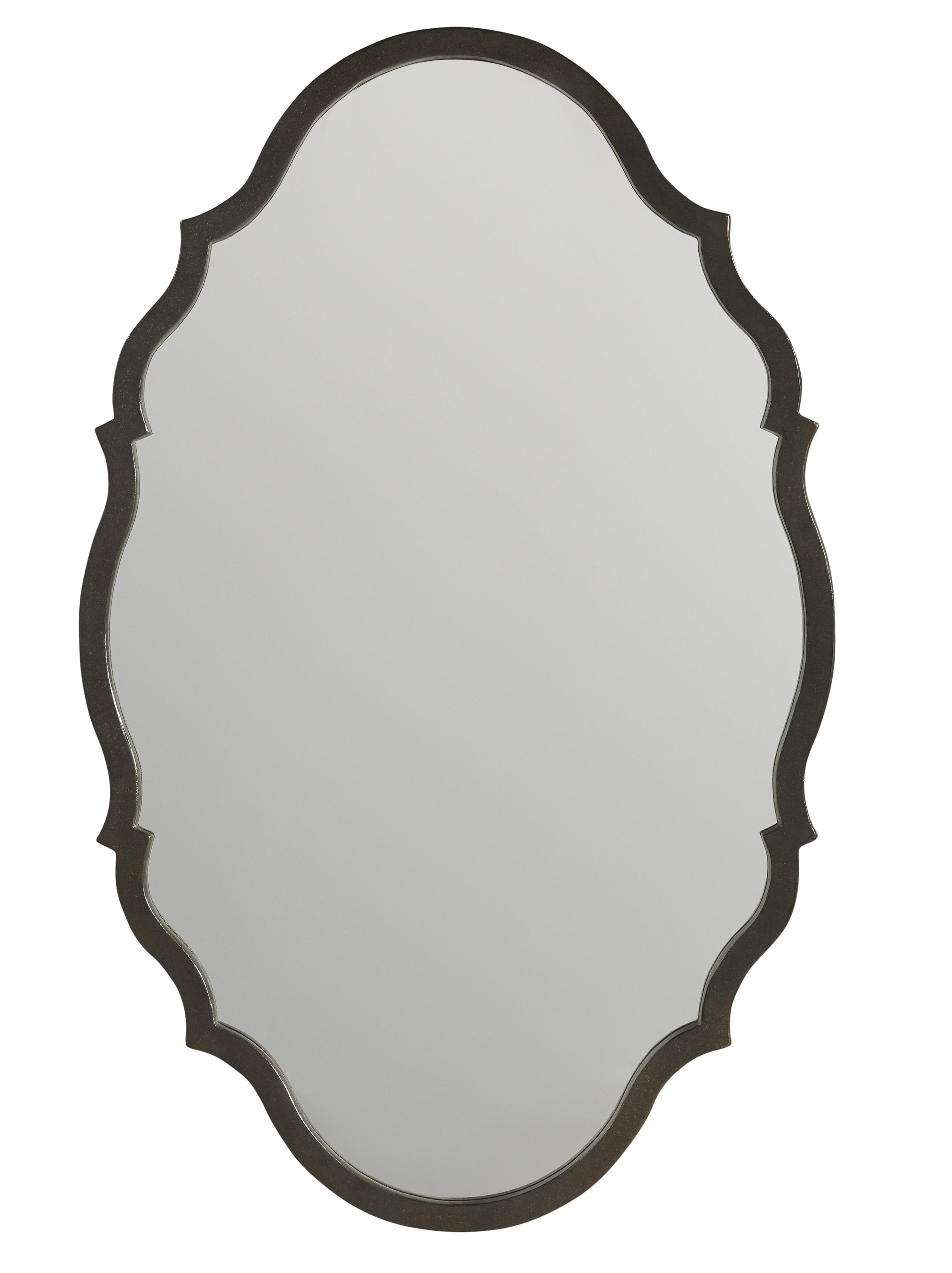 Corsica Metal Mirror by Hooker Furniture at Zak's Home