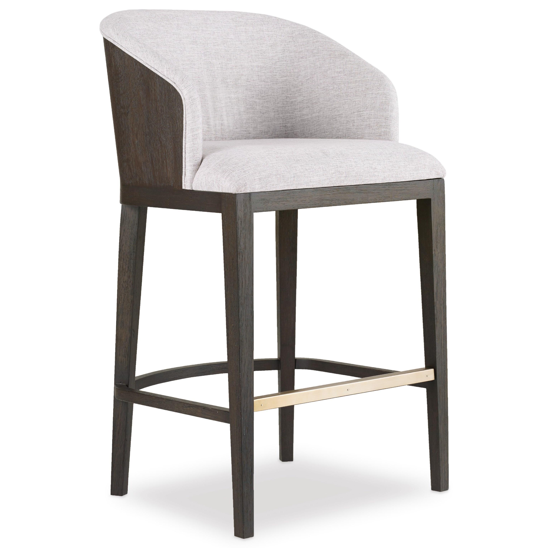 Hooker Furniture Curata Upholstered Bar Stool Knight