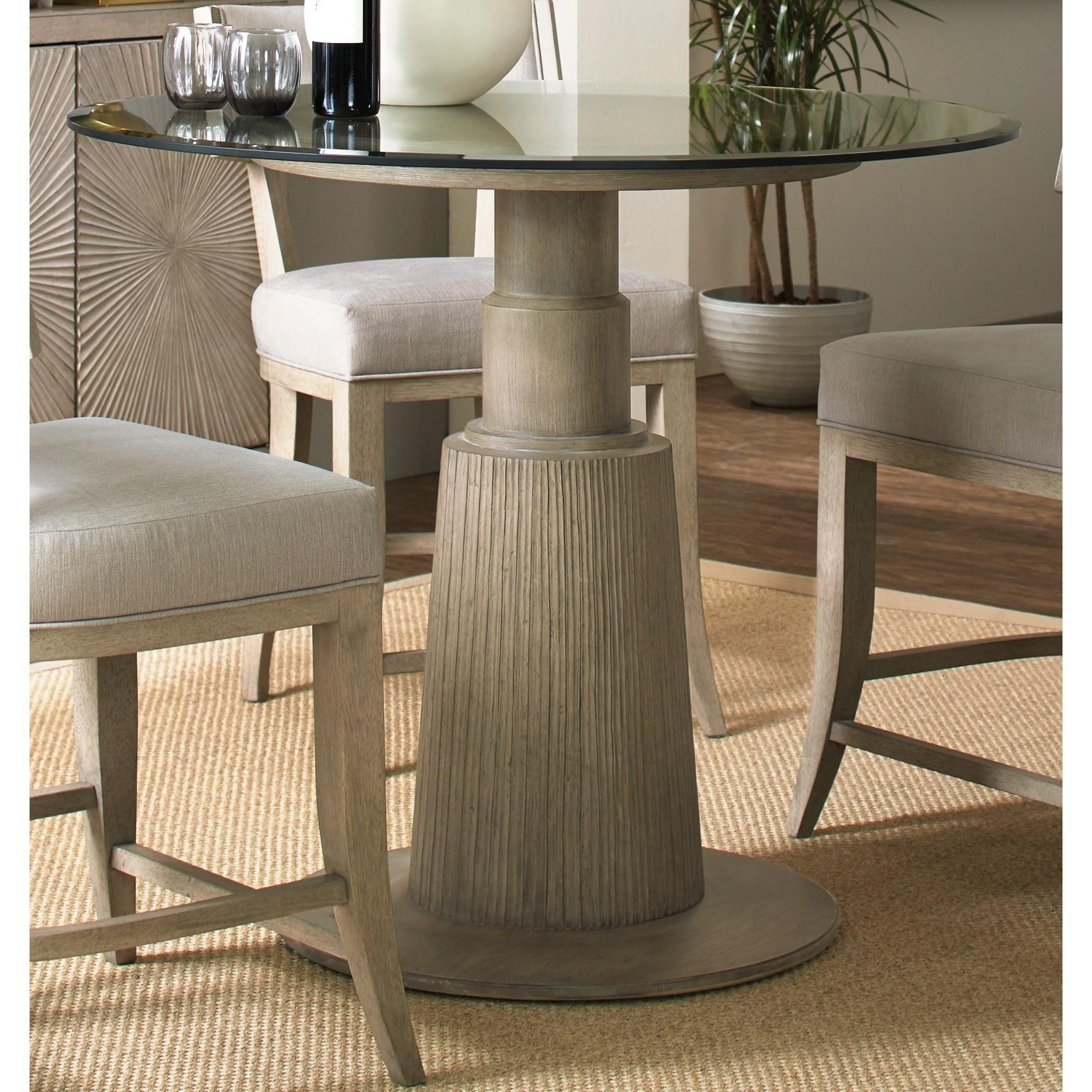hooker furniture elixir 42 adjustable height round dining table wayside furniture dining tables. Black Bedroom Furniture Sets. Home Design Ideas