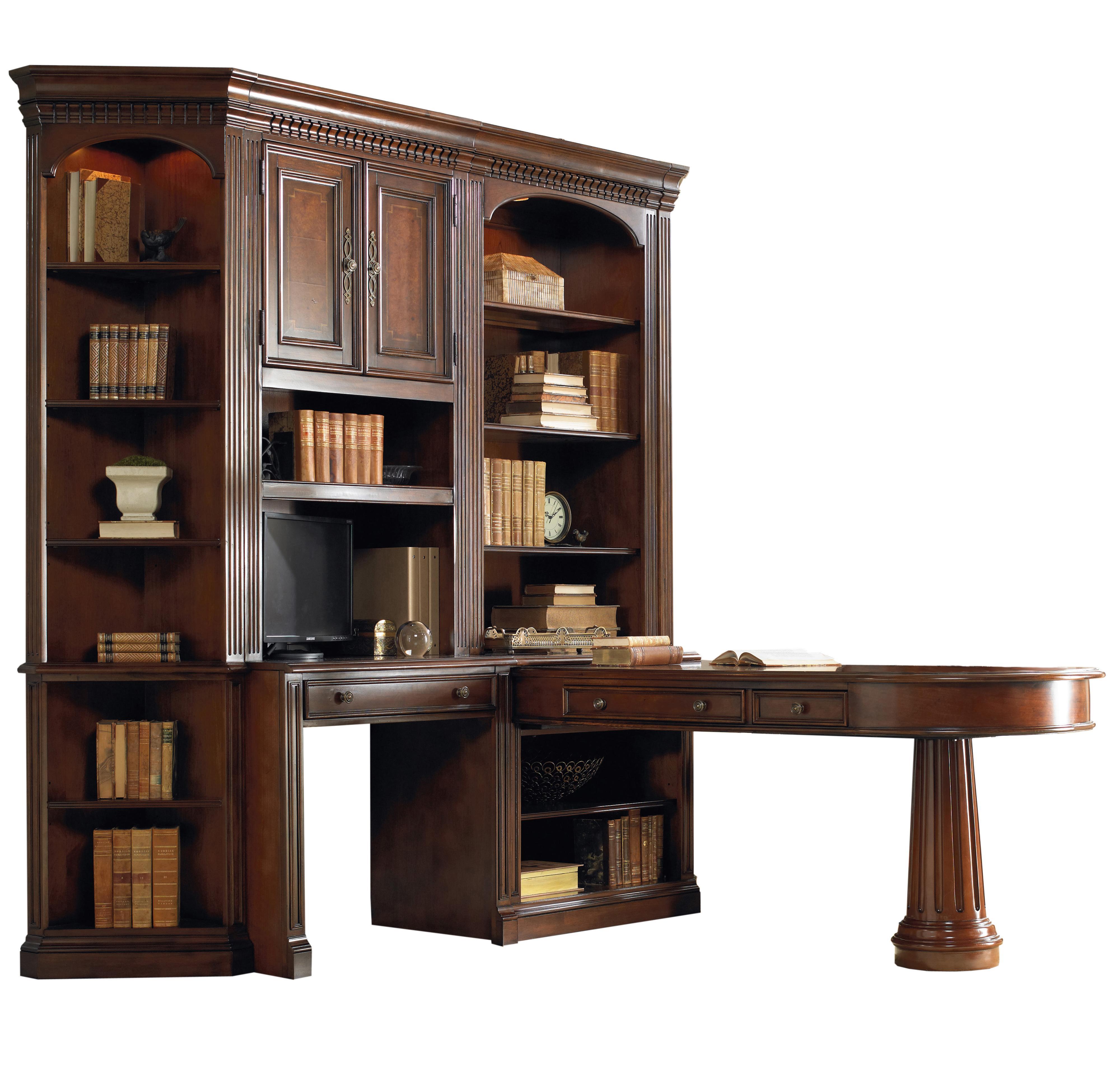 Hooker furniture european renaissance ii office wall unit for European furniture