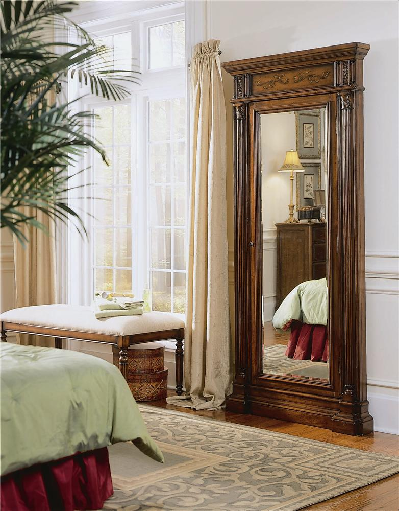 Hooker Furniture Seven Seas 500 50 558 Floor Mirror with