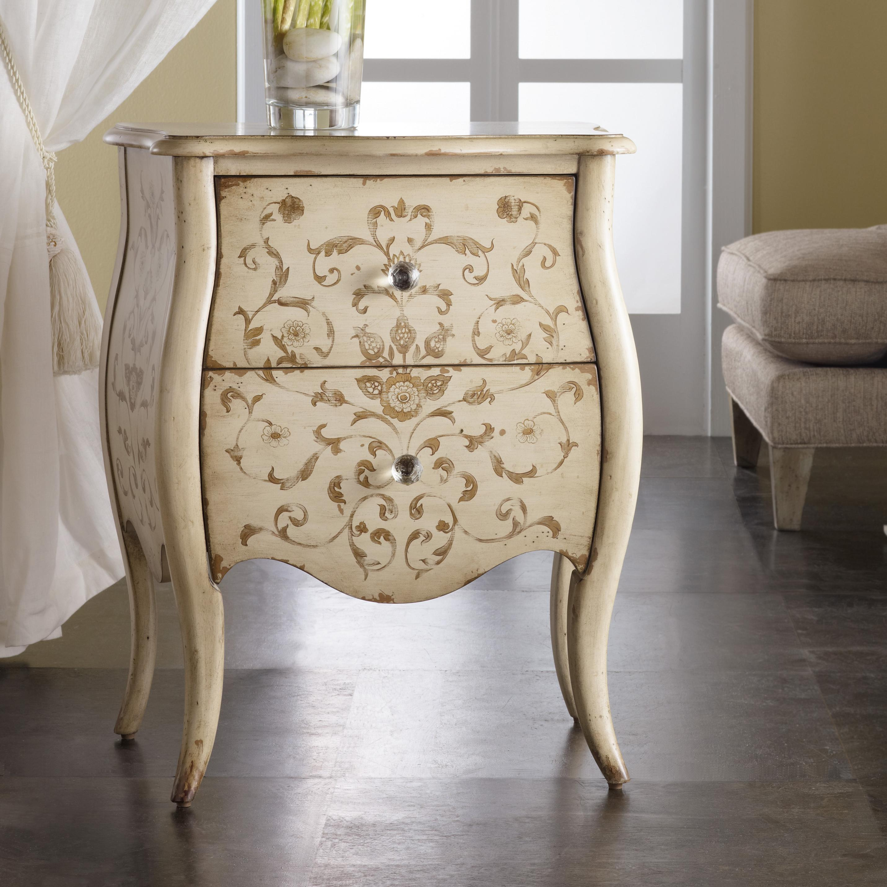 Melange Ariana Handpainted Chest by Hooker Furniture at Lagniappe Home Store