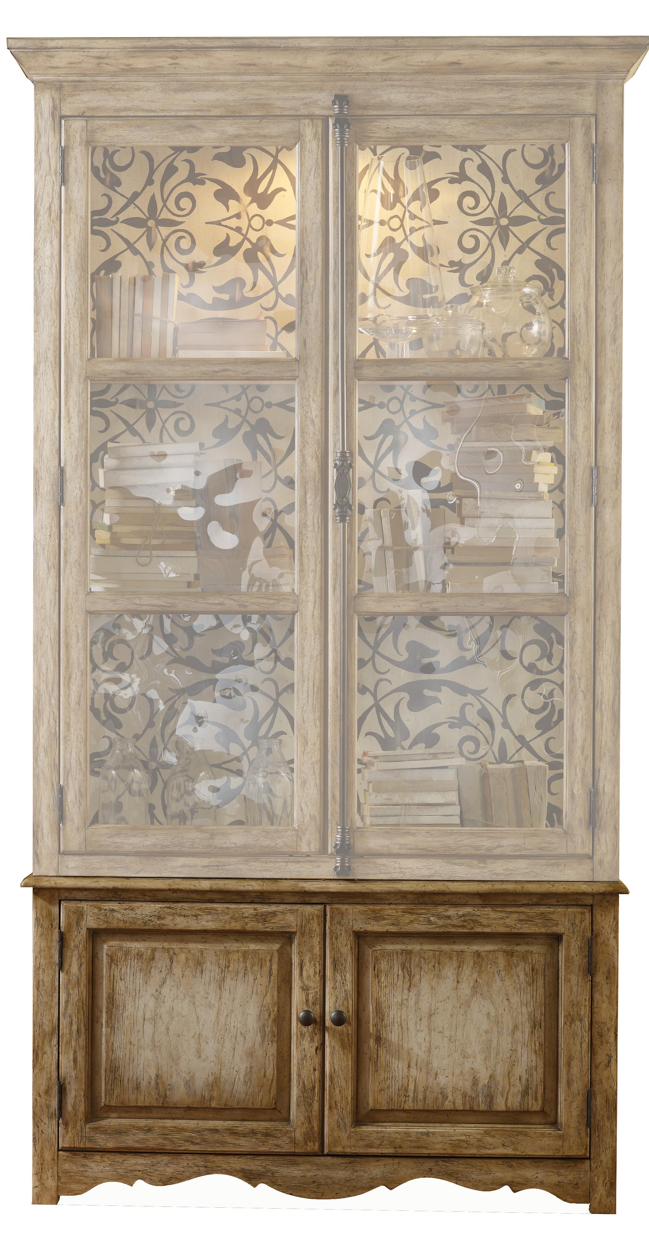 Melange Coralie Display Cabinet Base by Hooker Furniture at Zak's Home