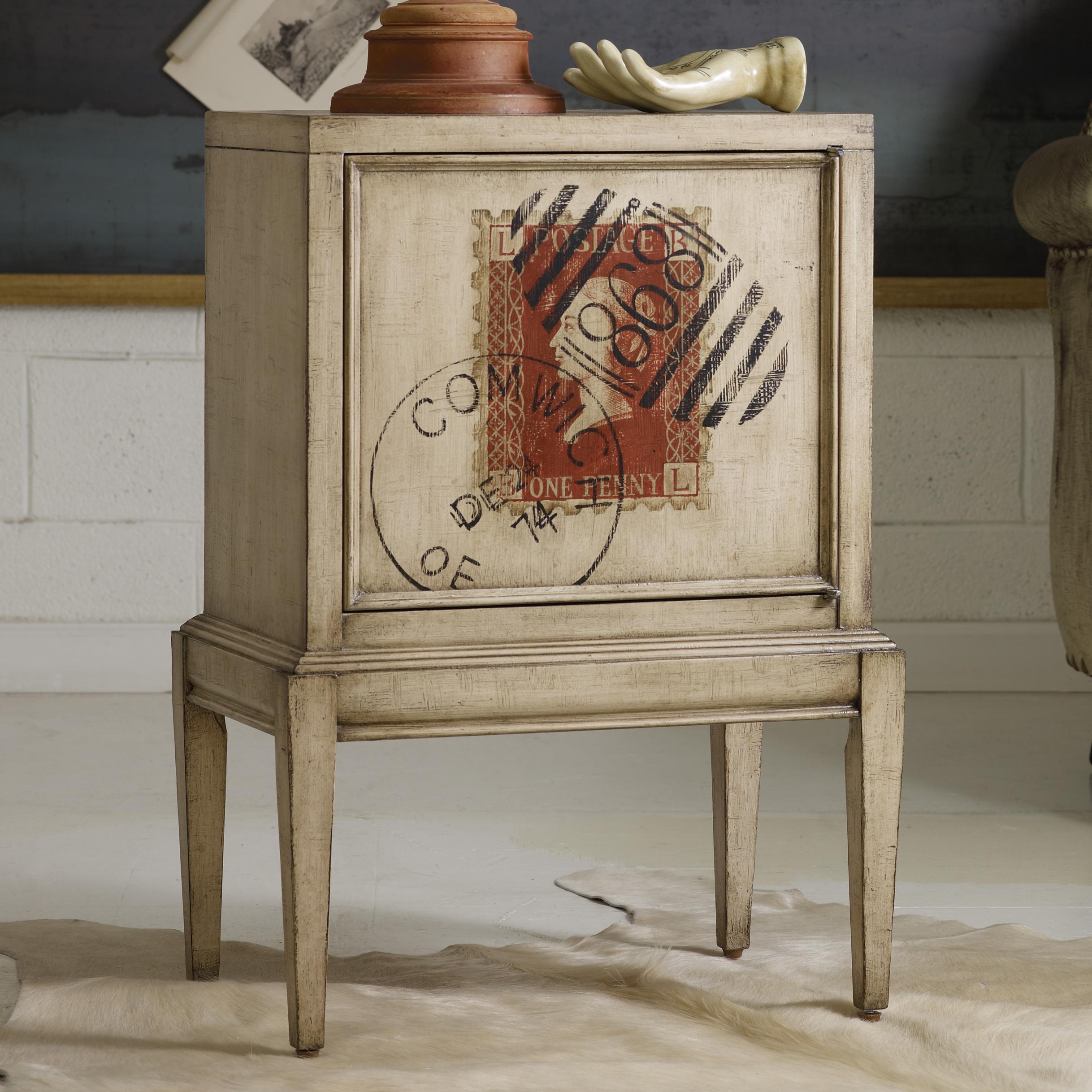 Melange Vintage Stamp Chest by Hooker Furniture at Darvin Furniture