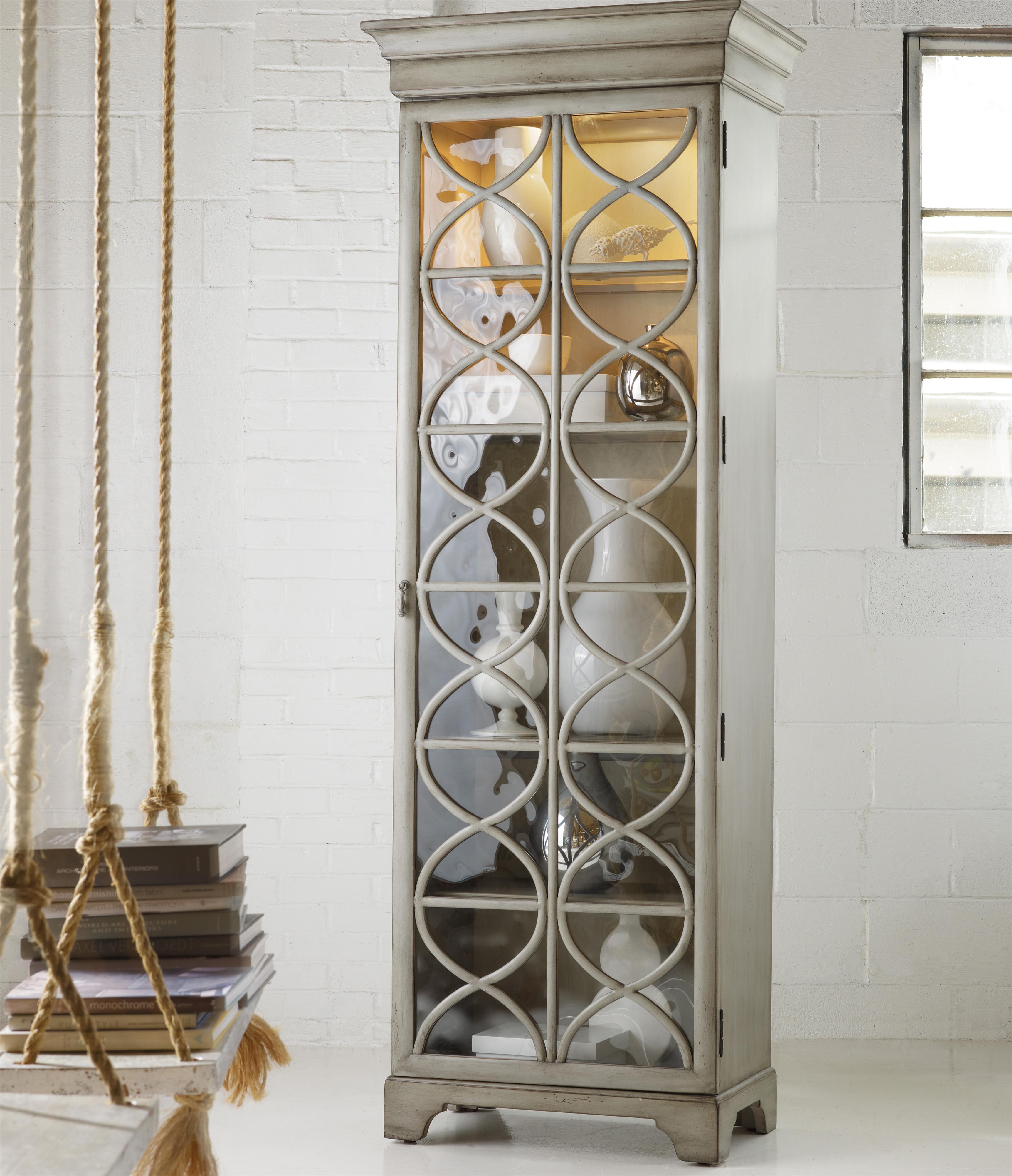 Melange Celeste Display Cabinet by Hooker Furniture at Furniture Barn