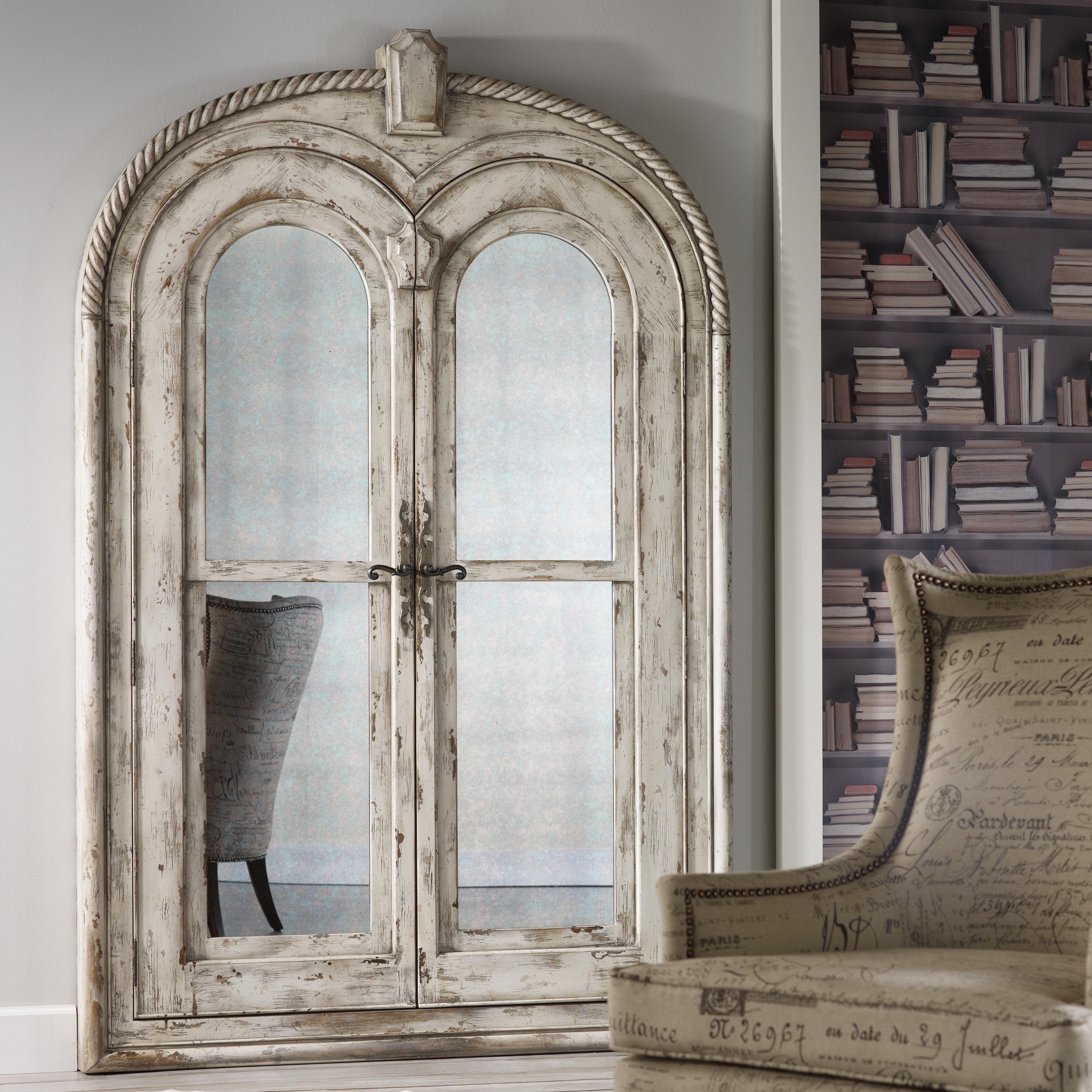 Melange Antonella Floor Mirror by Hooker Furniture at Zak's Home