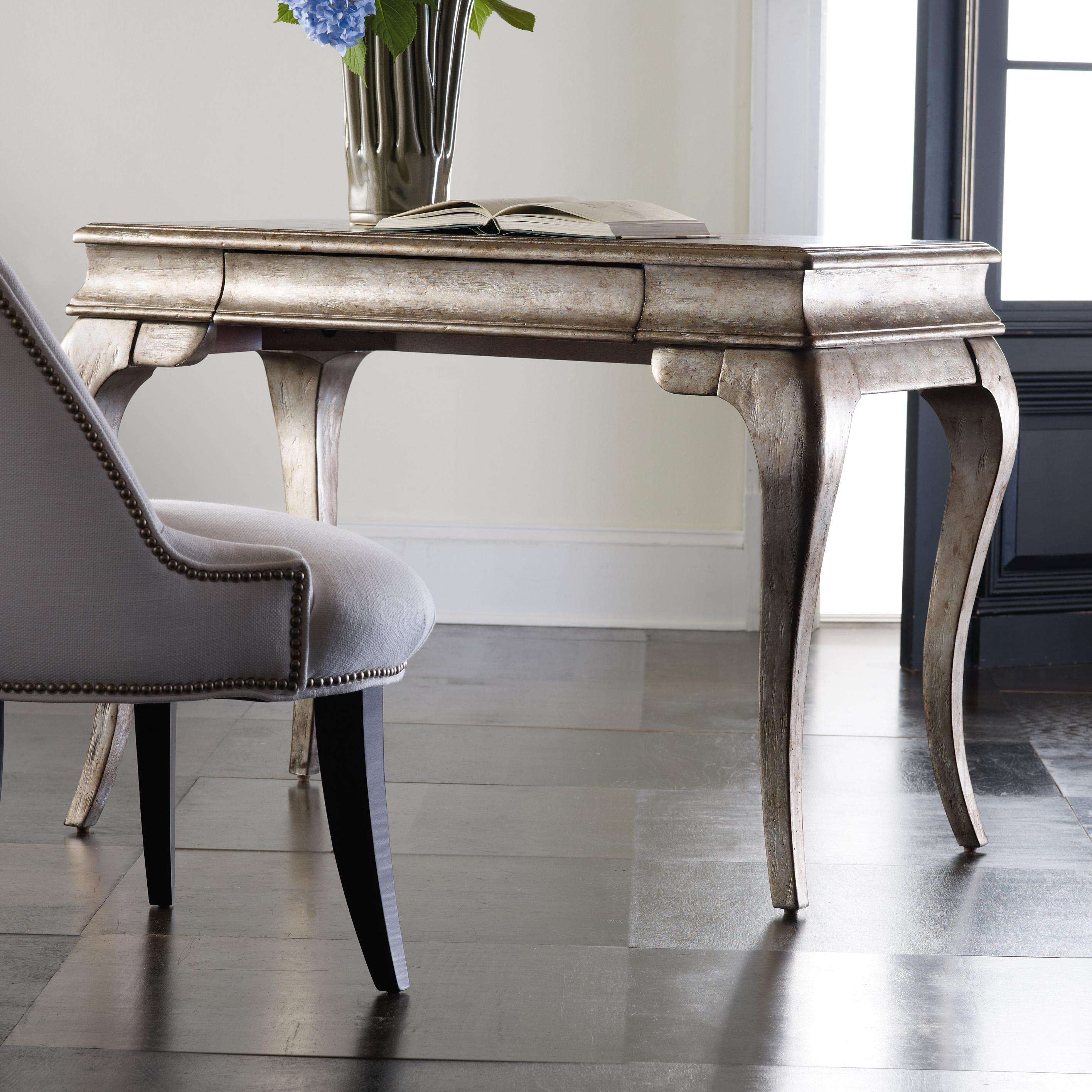 Melange Palladium Writing Desk by Hooker Furniture at Miller Waldrop Furniture and Decor
