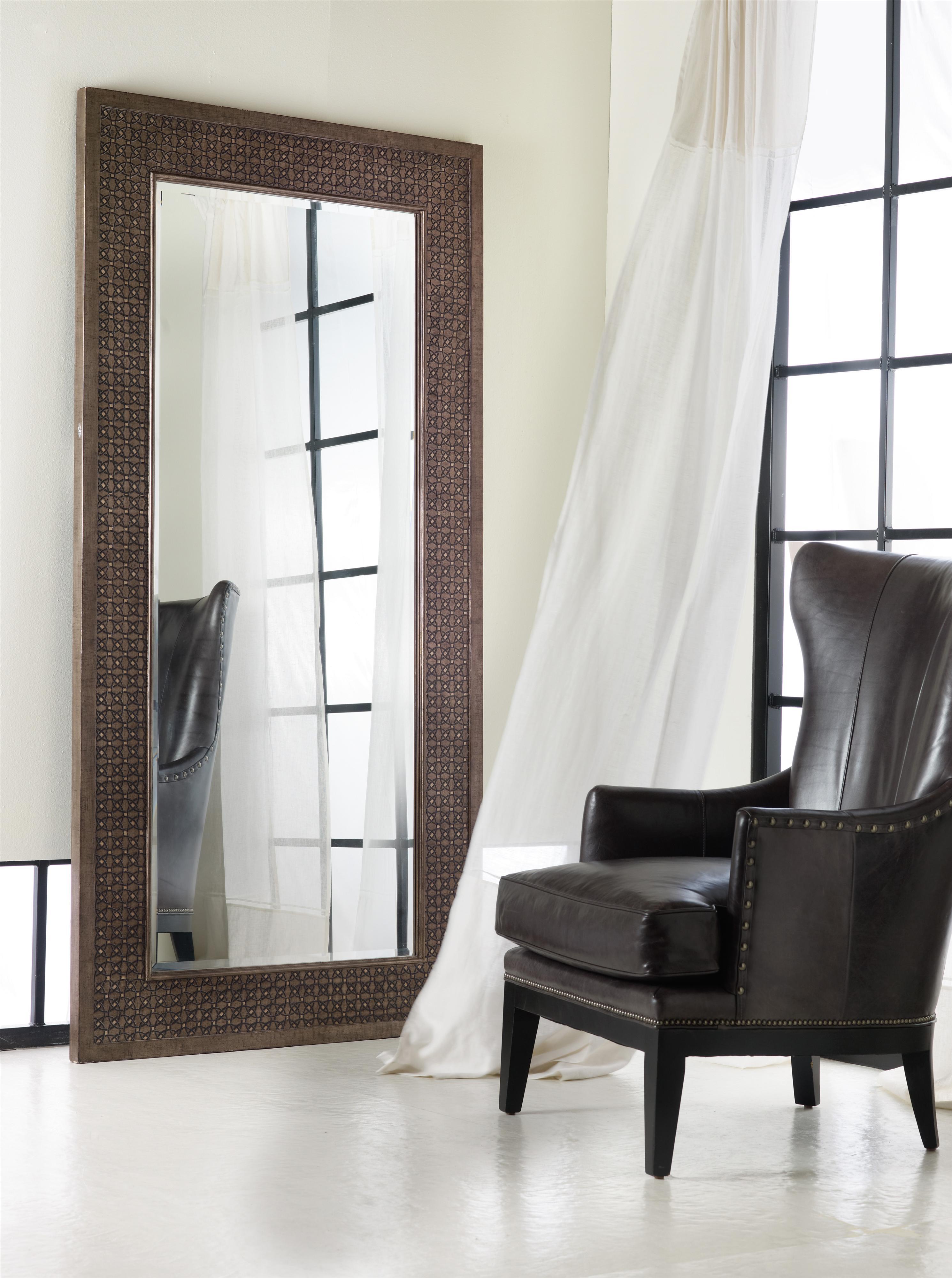 Melange Vogue Floor Mirror by Hooker Furniture at Furniture Barn
