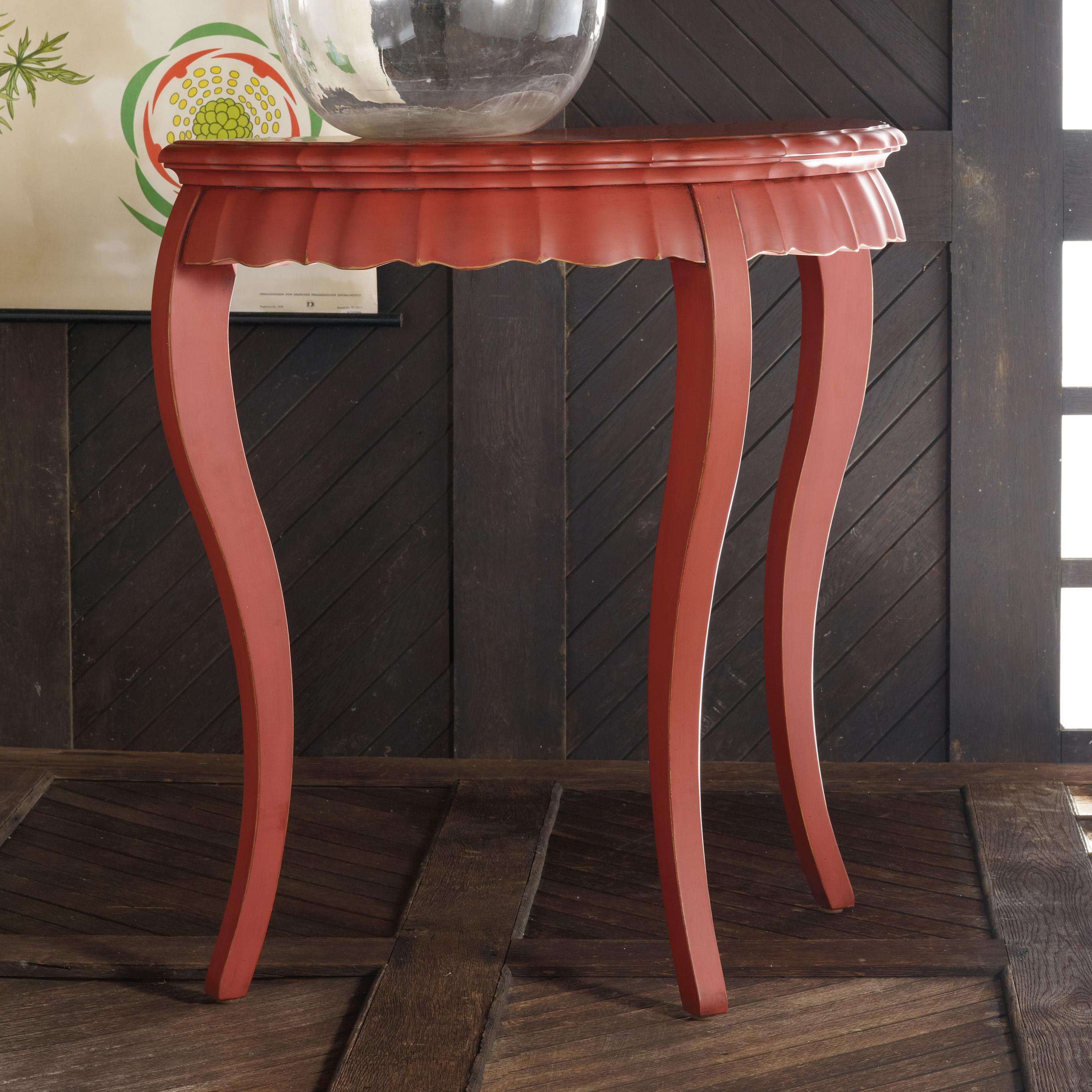 Melange Tessa Demilune by Hooker Furniture at Zak's Home