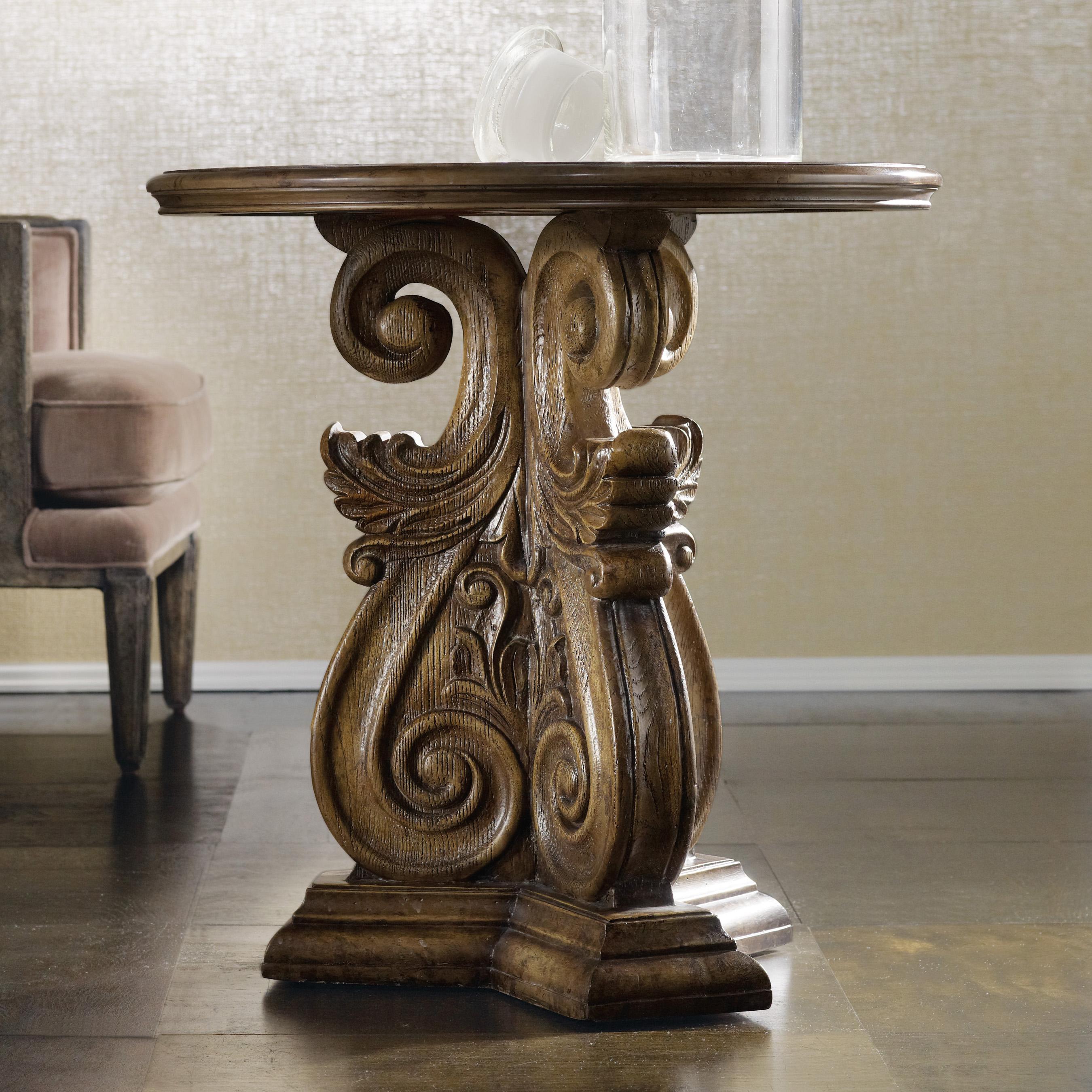 Melange Serafina Accent Table by Hooker Furniture at Zak's Home