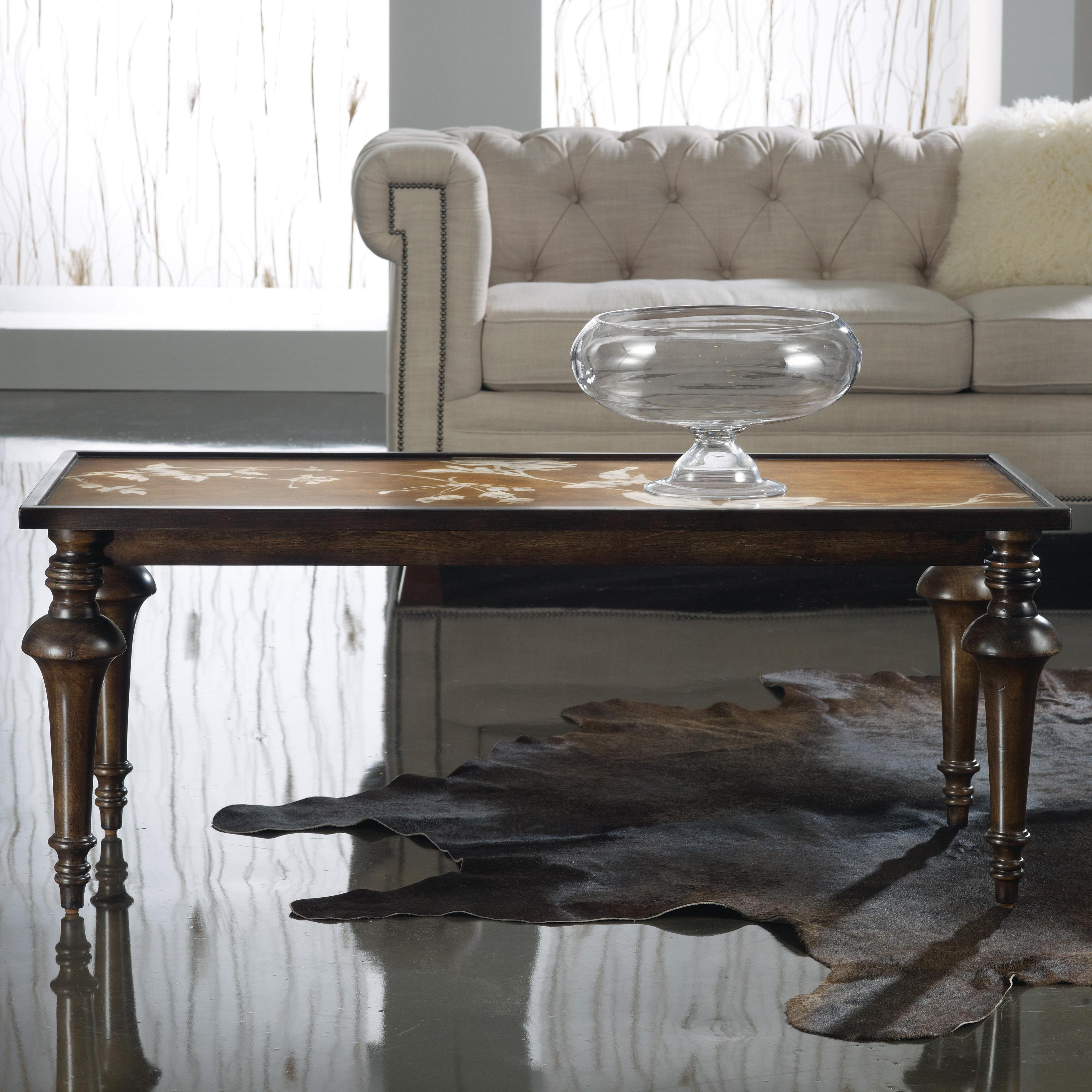 Melange Leighton Cocktail Table by Hooker Furniture at Zak's Home