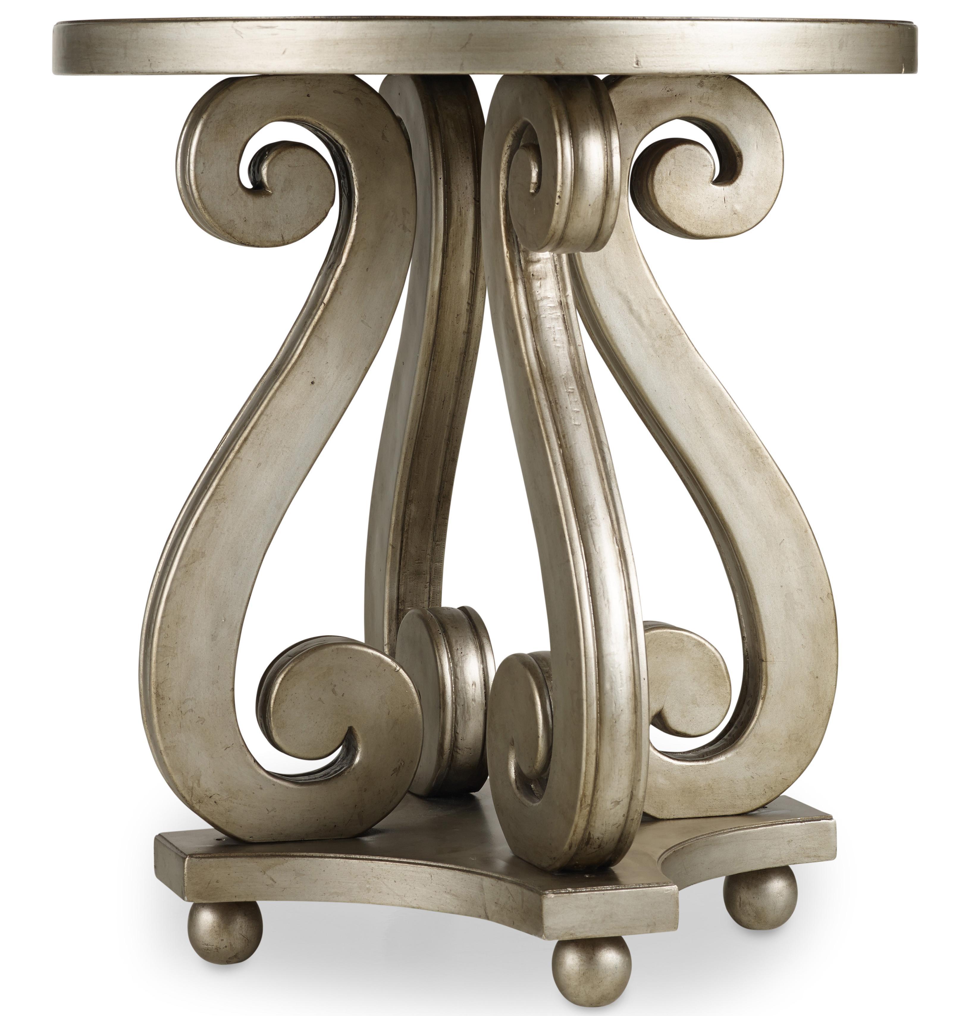 Melange Luna Accent Table by Hooker Furniture at Zak's Home