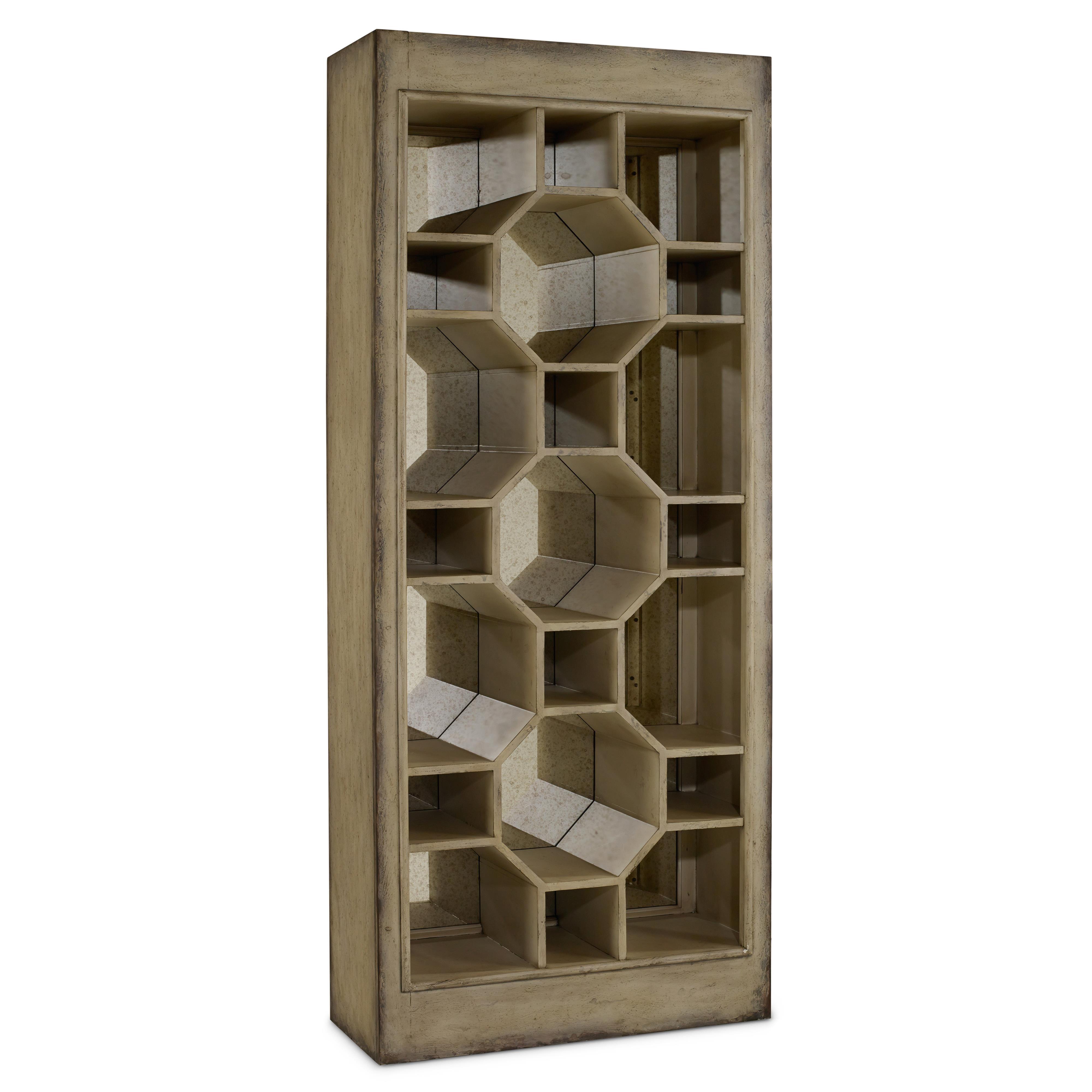 Melange Show-Off Display Cabinet by Hooker Furniture at Fashion Furniture