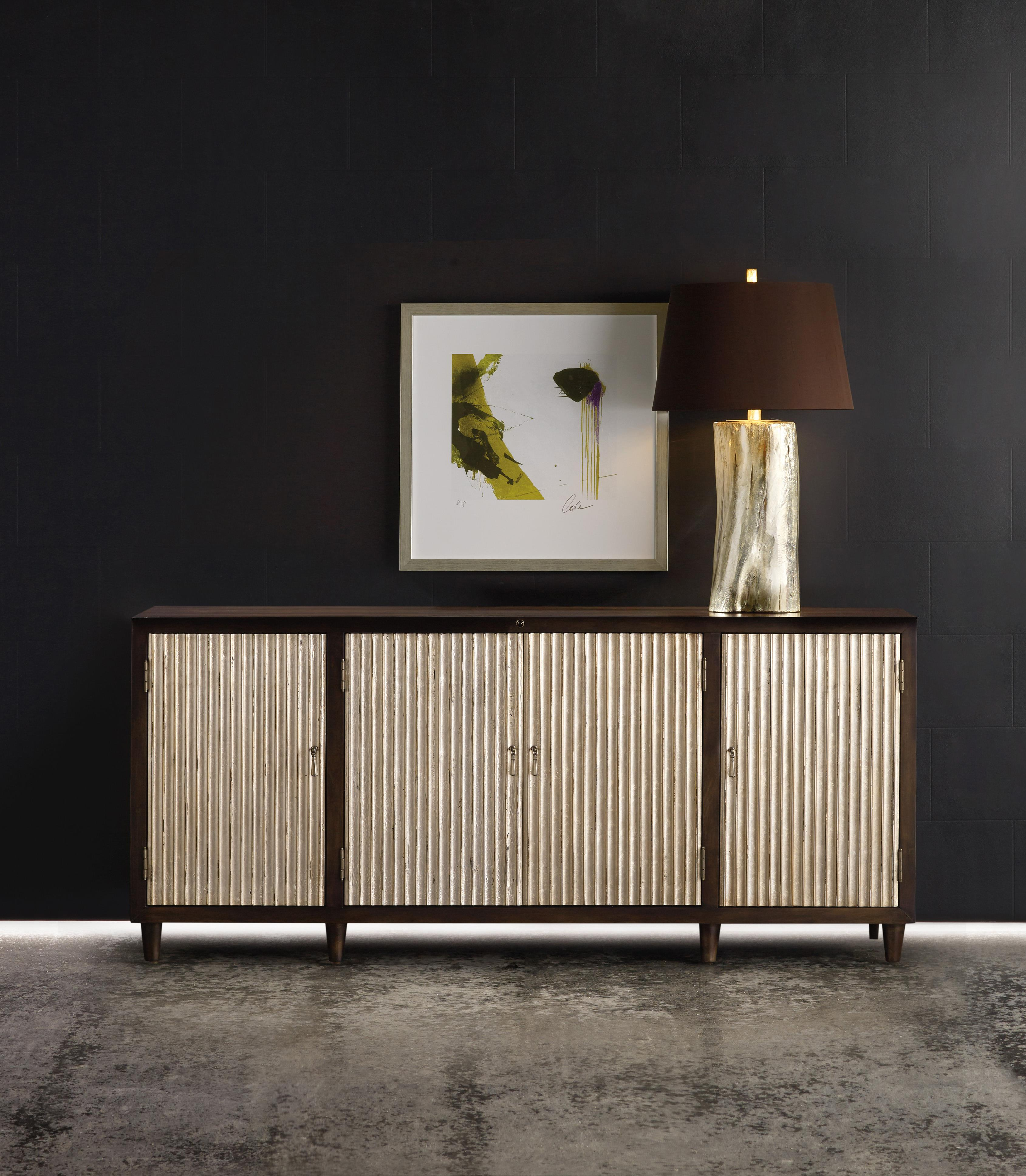 Hooker Furniture Mélange Manhattan Console with Infrared
