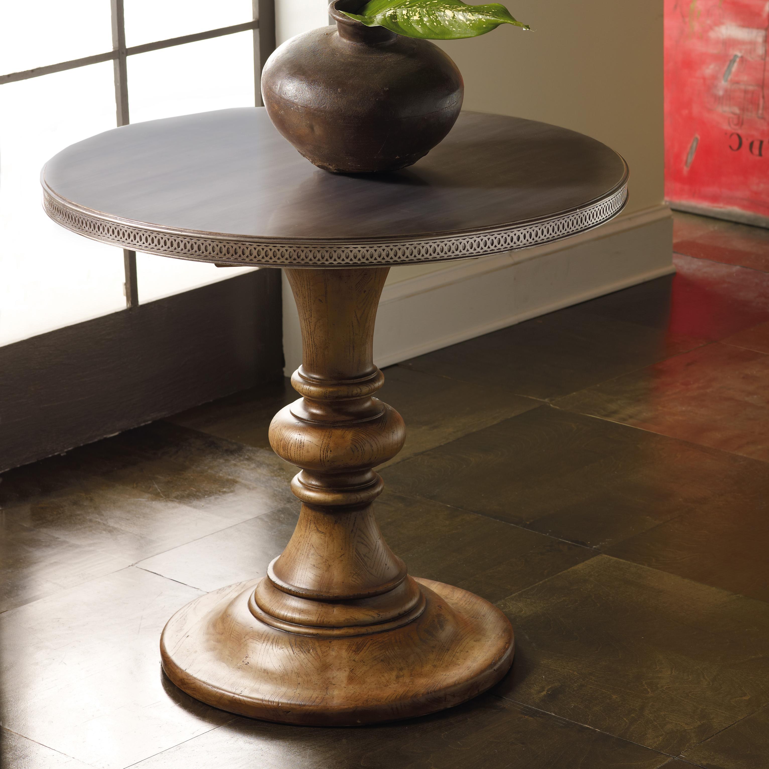 Melange Fleming Dining/Center Hall Table by Hooker Furniture at Zak's Home