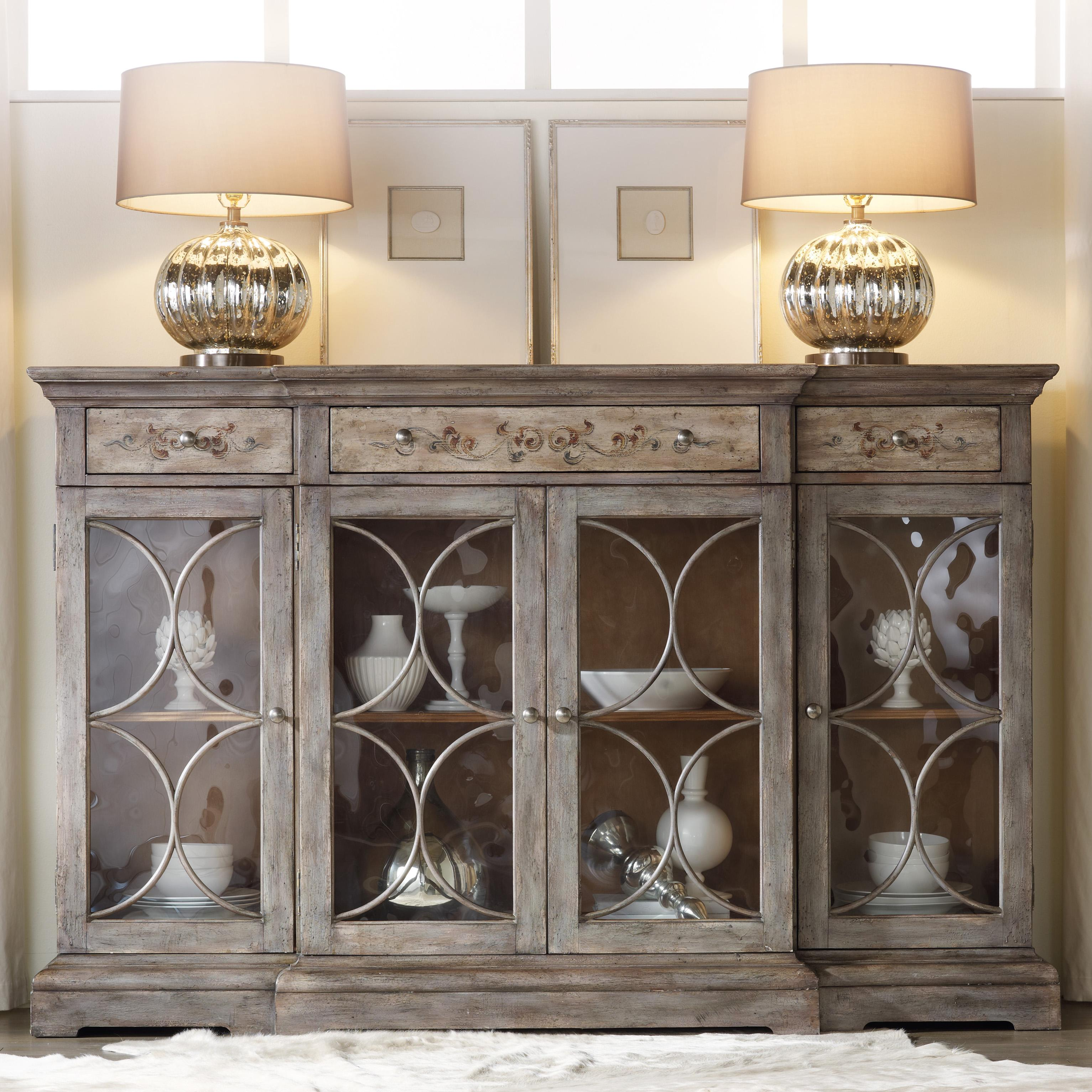 Melange Adelaide Console by Hooker Furniture at Zak's Home