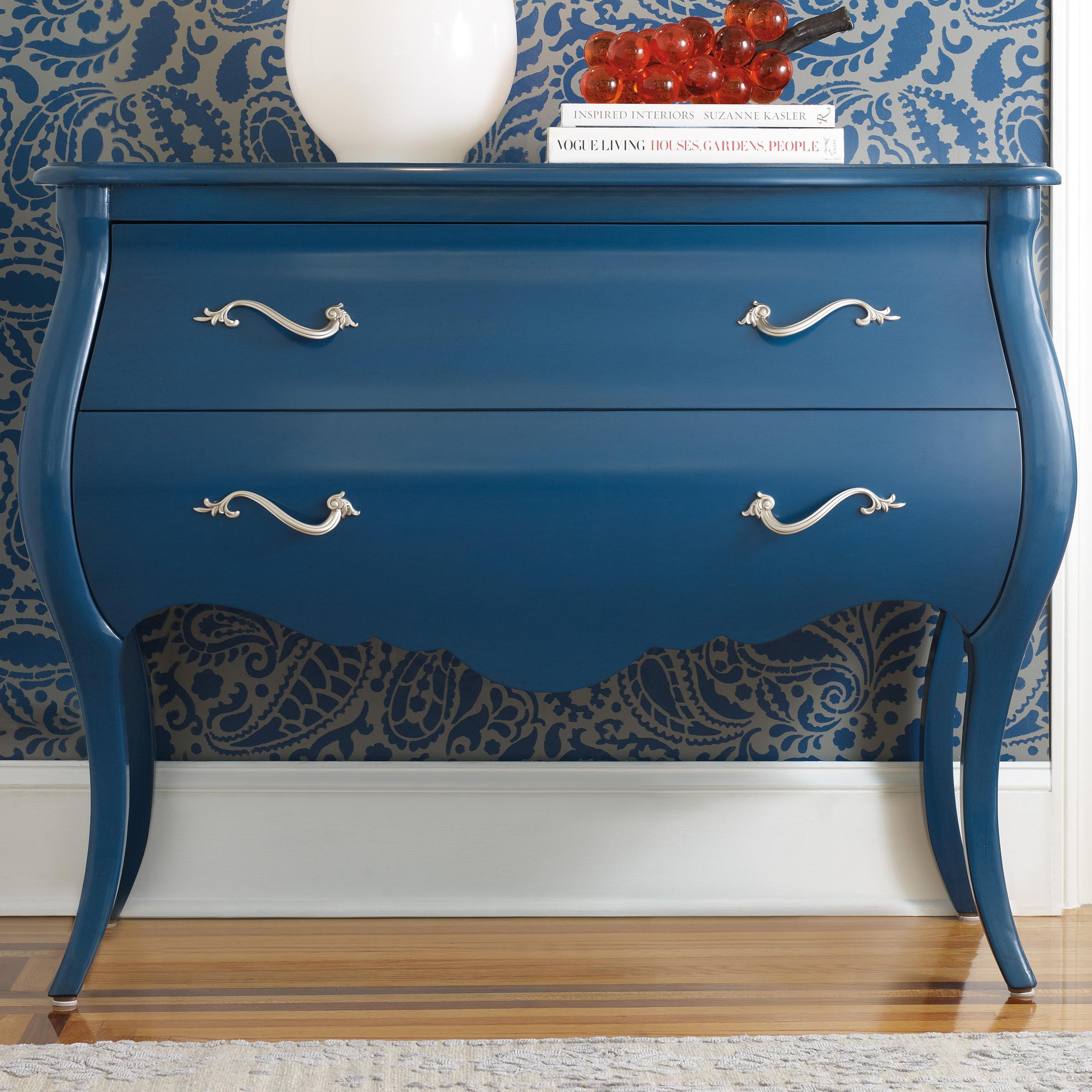 Melange Regatta Blue Bombe by Hooker Furniture at Zak's Home