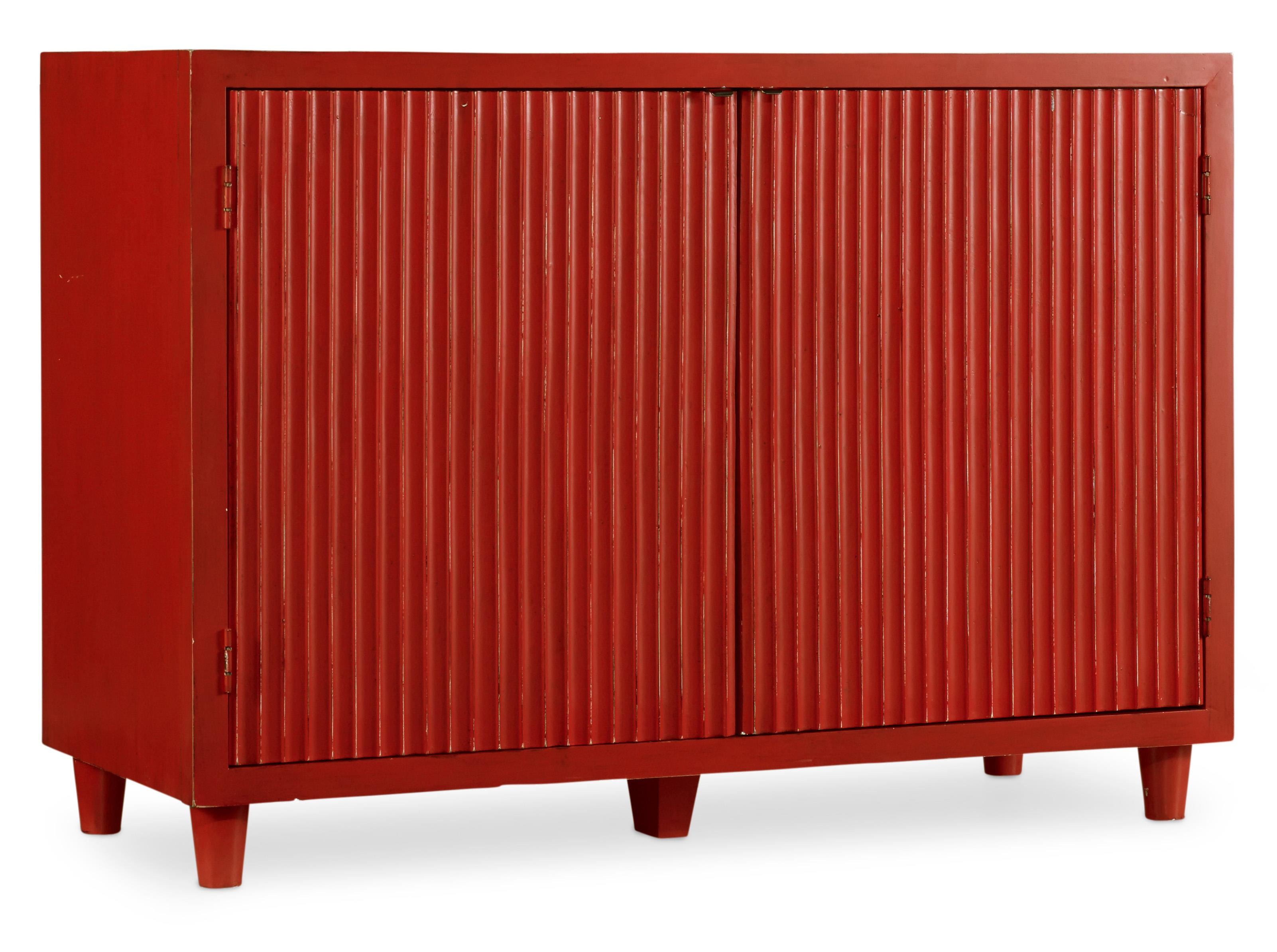 Melange Cayenne Ribbed Chest by Hooker Furniture at Zak's Home