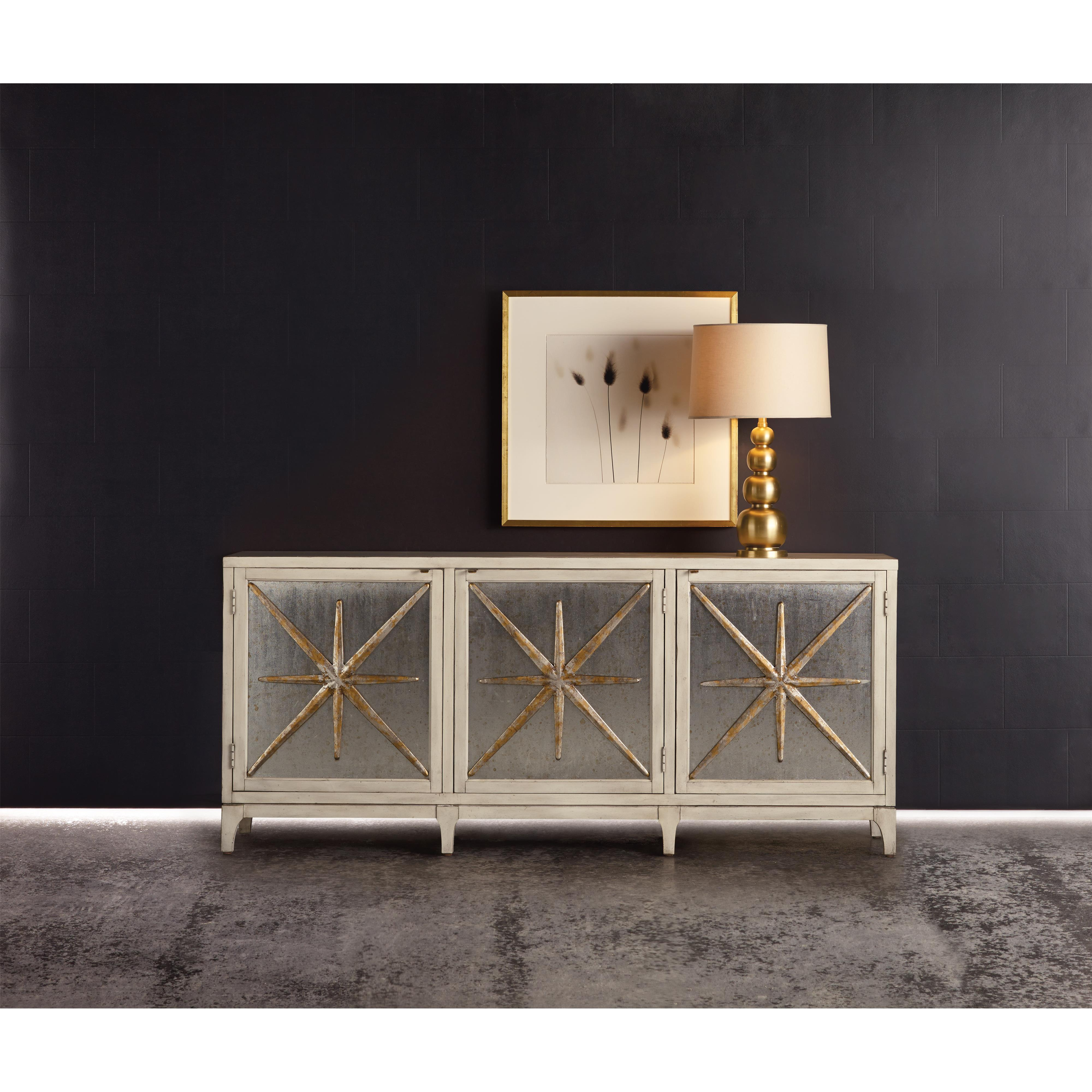 Hooker Furniture Mélange Star Power Console with Outlet