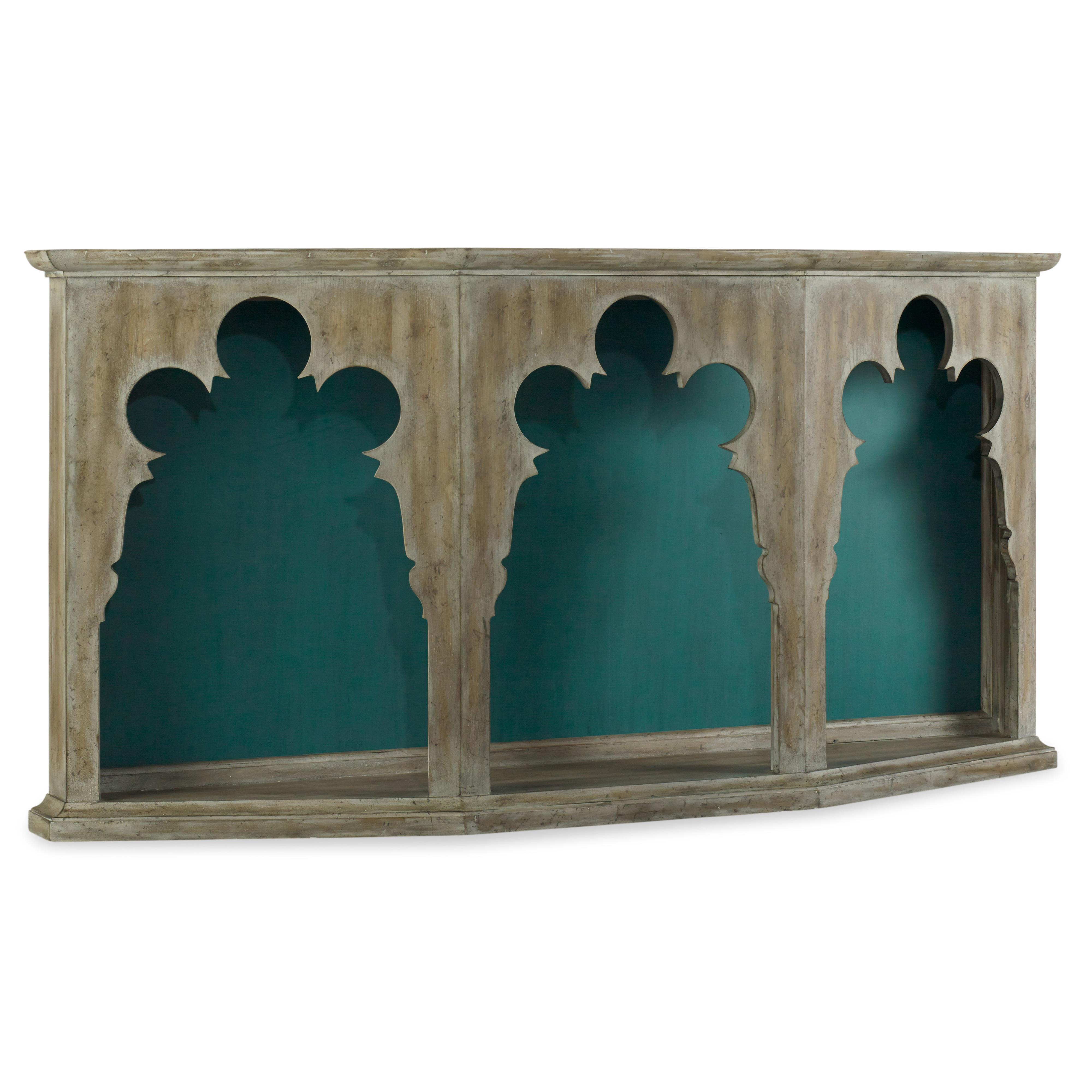 Melange Chantal Hall Console by Hooker Furniture at Zak's Home