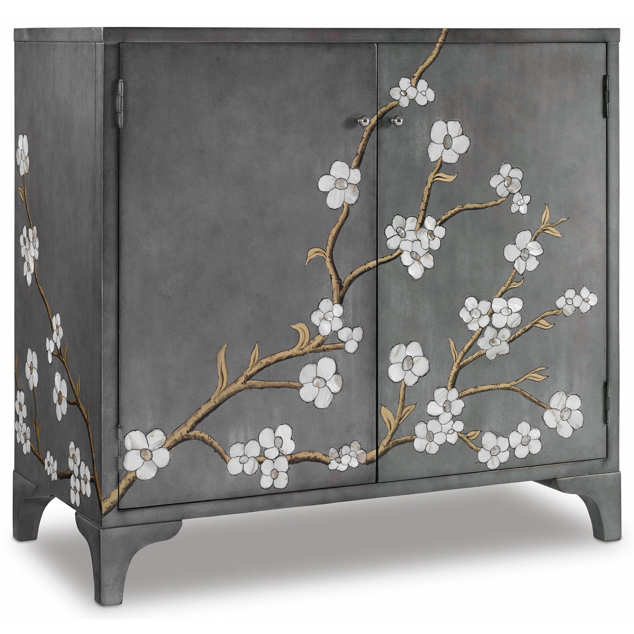Melange In Bloom Door Chest by Hooker Furniture at Zak's Home
